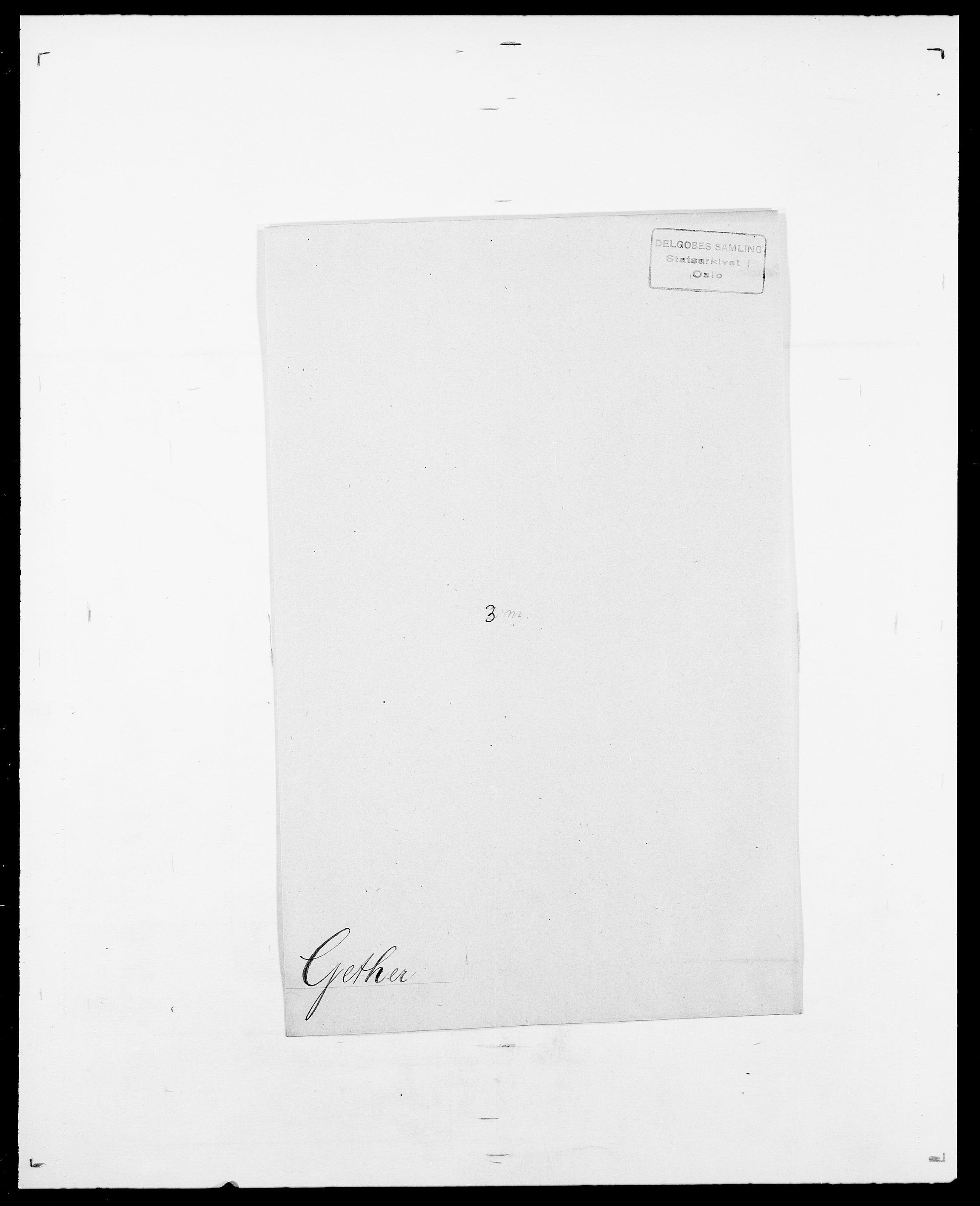 SAO, Delgobe, Charles Antoine - samling, D/Da/L0013: Forbos - Geving, s. 654