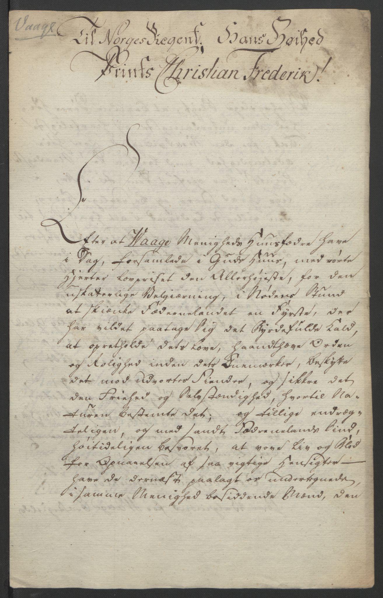 RA, Statsrådssekretariatet, D/Db/L0007: Fullmakter for Eidsvollsrepresentantene i 1814. , 1814, s. 296