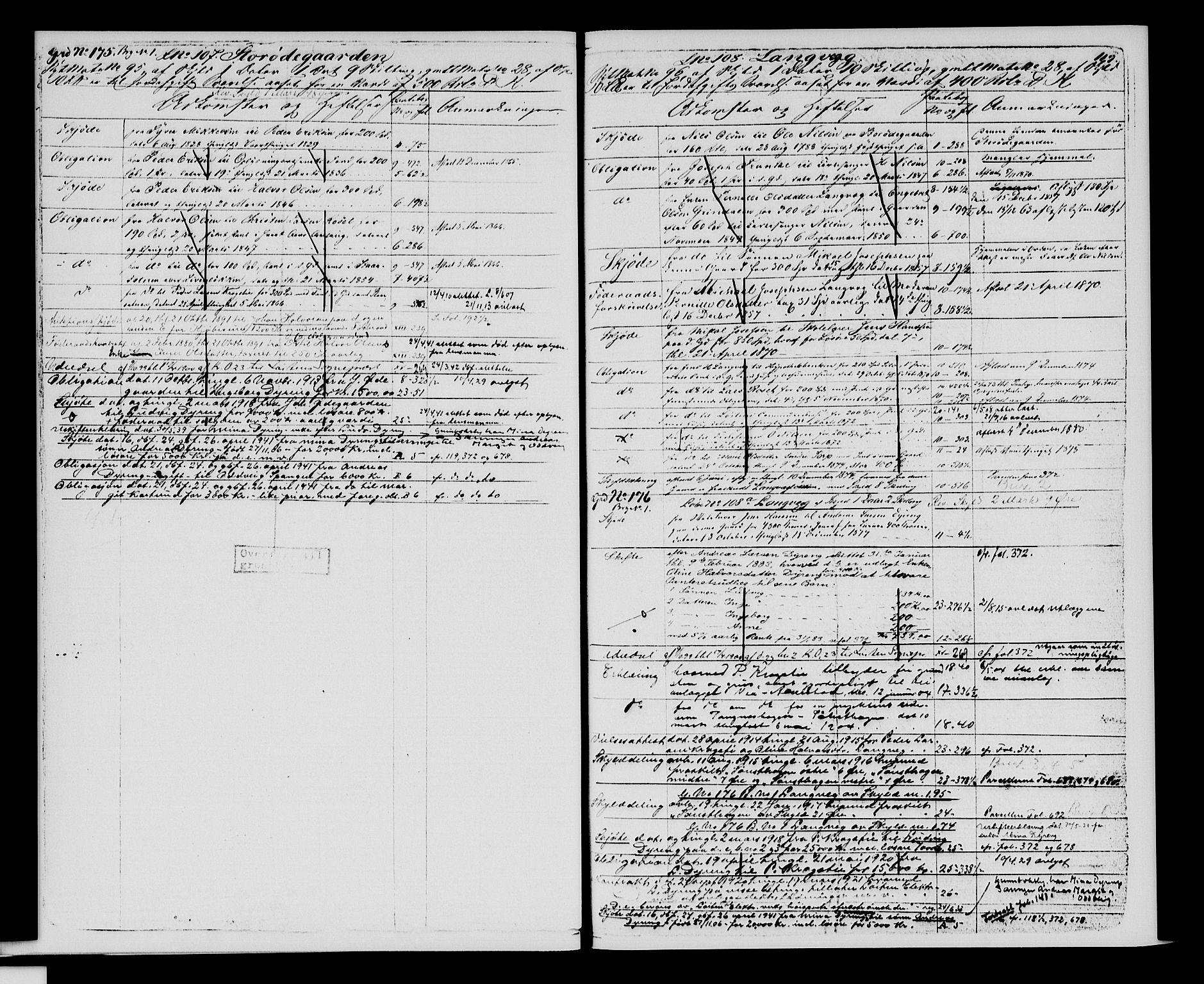 SAH, Sør-Hedmark sorenskriveri, H/Ha/Hac/Hacc/L0001: Panteregister nr. 3.1, 1855-1943, s. 119