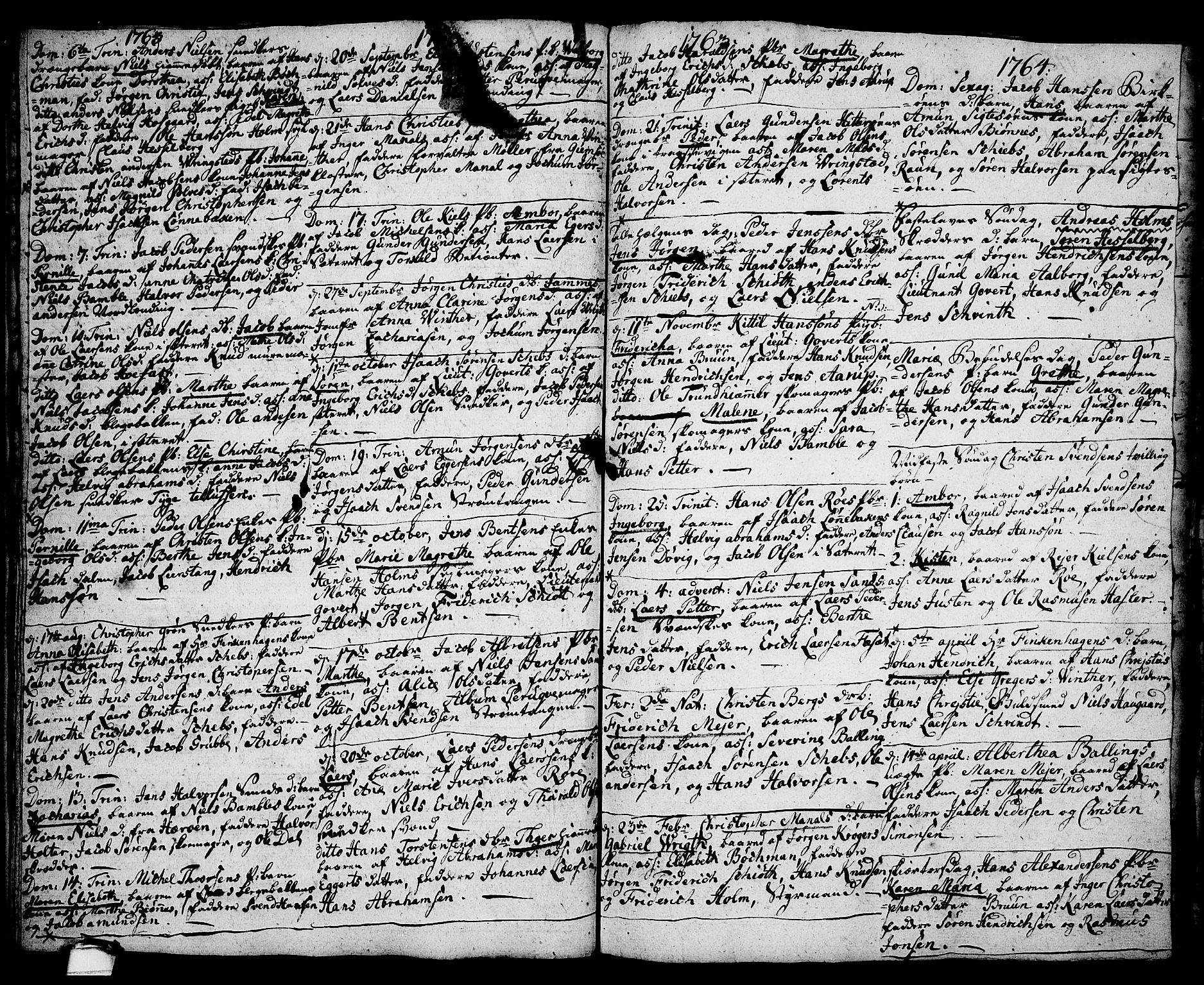 SAKO, Brevik kirkebøker, F/Fa/L0002: Ministerialbok nr. 2, 1720-1764, s. 35j