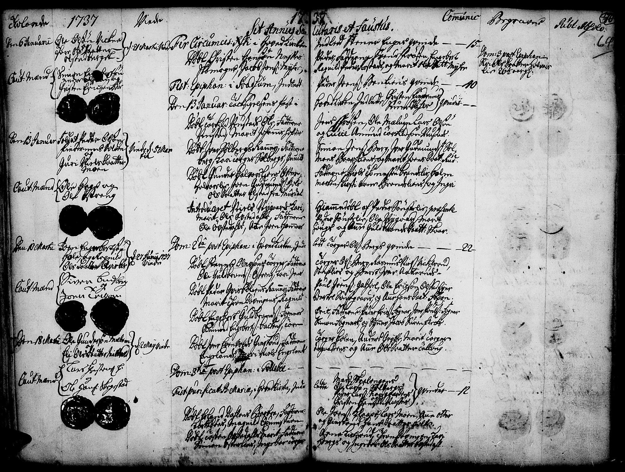 SAH, Gausdal prestekontor, Ministerialbok nr. 2, 1729-1757, s. 64