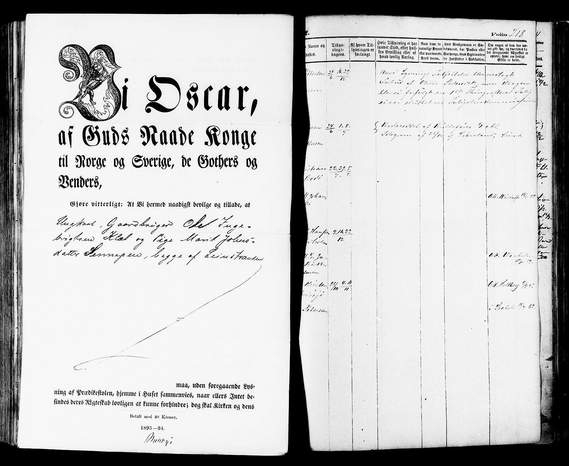SAT, Ministerialprotokoller, klokkerbøker og fødselsregistre - Nordland, 801/L0009: Ministerialbok nr. 801A09, 1876-1883, s. 218