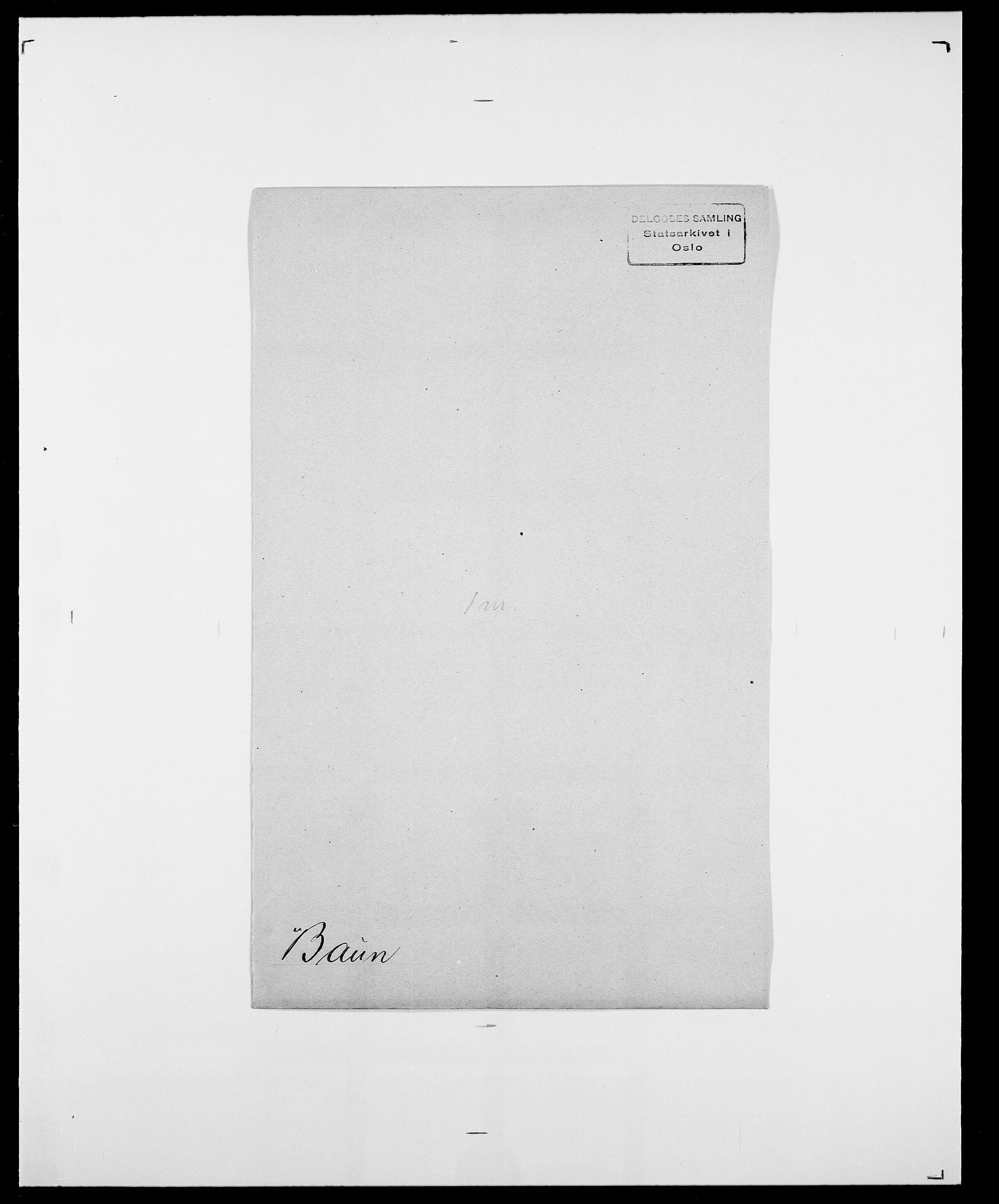 SAO, Delgobe, Charles Antoine - samling, D/Da/L0003: Barca - Bergen, s. 454
