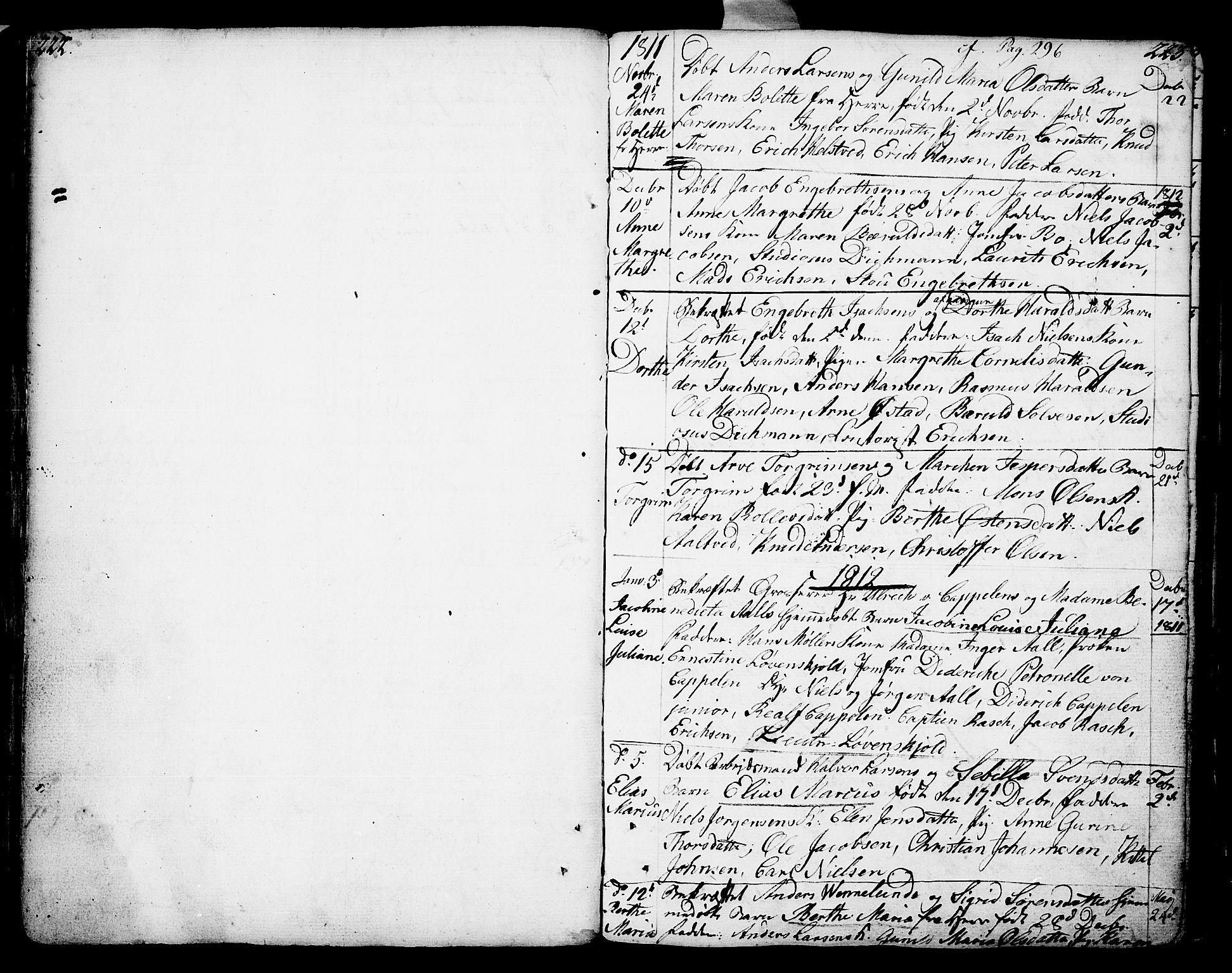 SAKO, Porsgrunn kirkebøker , F/Fa/L0002: Ministerialbok nr. 2, 1764-1814, s. 222-223