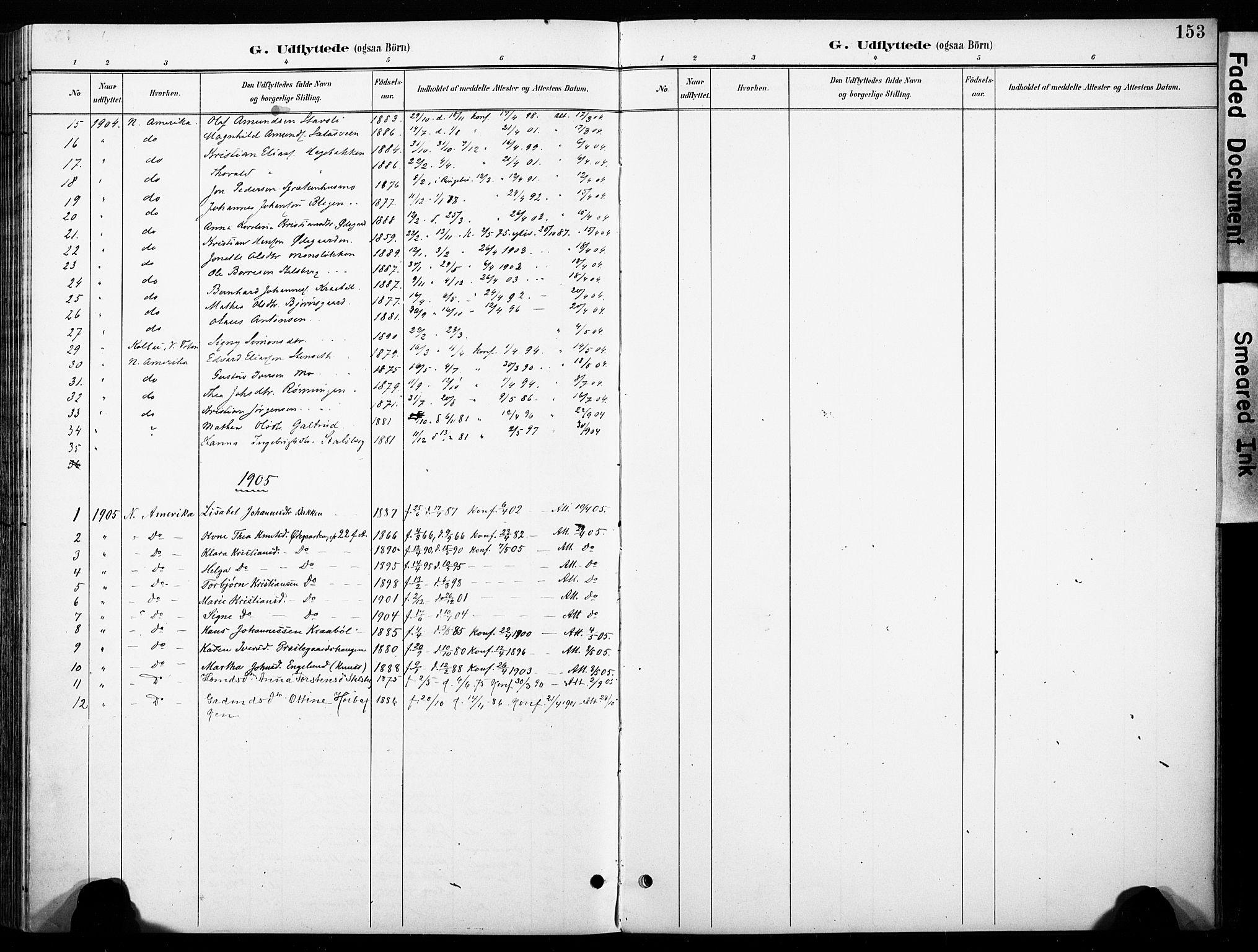 SAH, Øyer prestekontor, Ministerialbok nr. 11, 1894-1905, s. 153