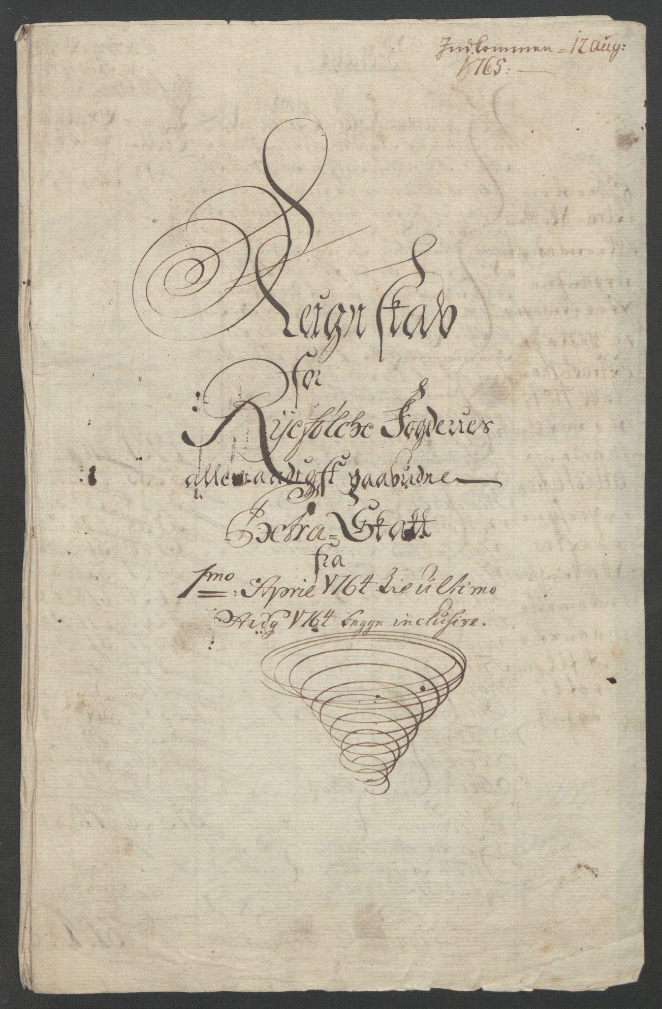 RA, Rentekammeret inntil 1814, Reviderte regnskaper, Fogderegnskap, R47/L2972: Ekstraskatten Ryfylke, 1762-1780, s. 26