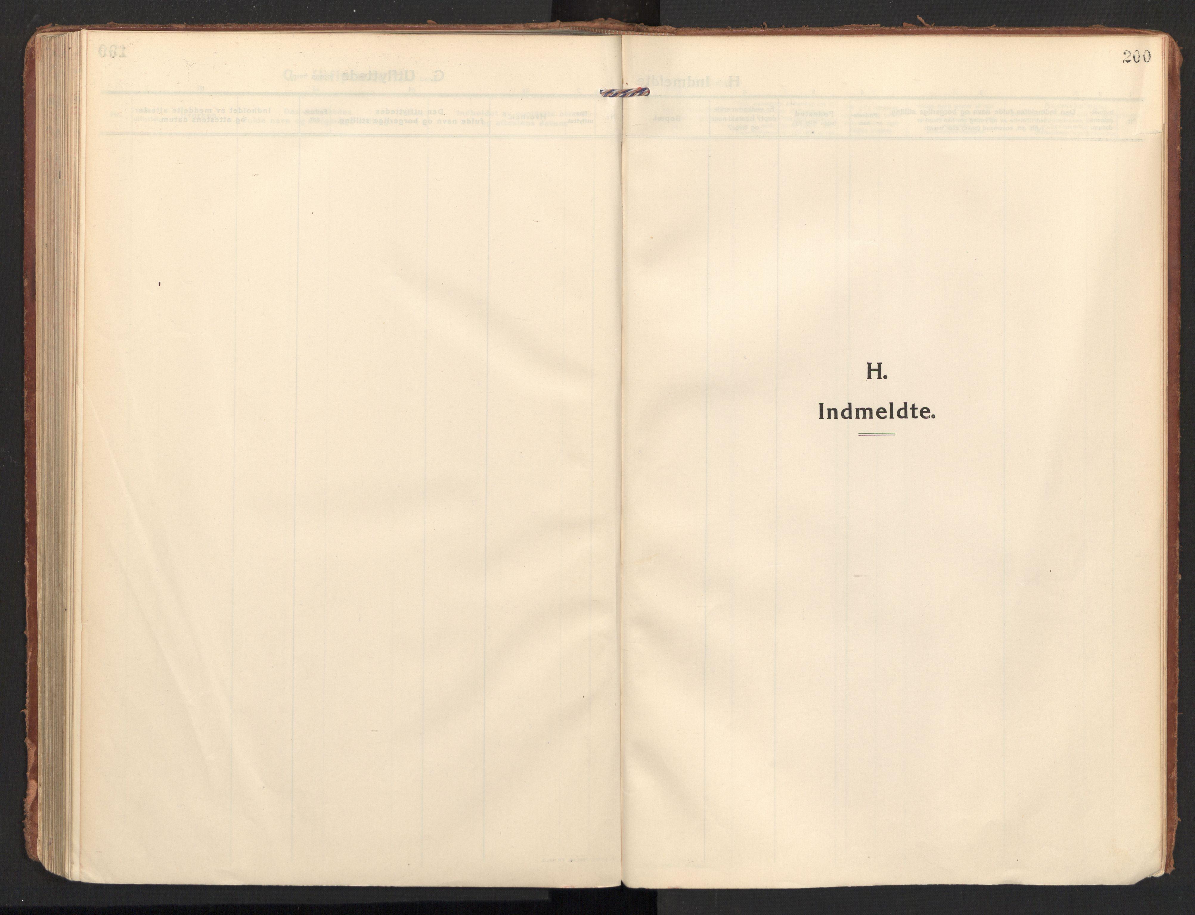 SAT, Ministerialprotokoller, klokkerbøker og fødselsregistre - Nordland, 810/L0156: Ministerialbok nr. 810A15, 1915-1930, s. 200