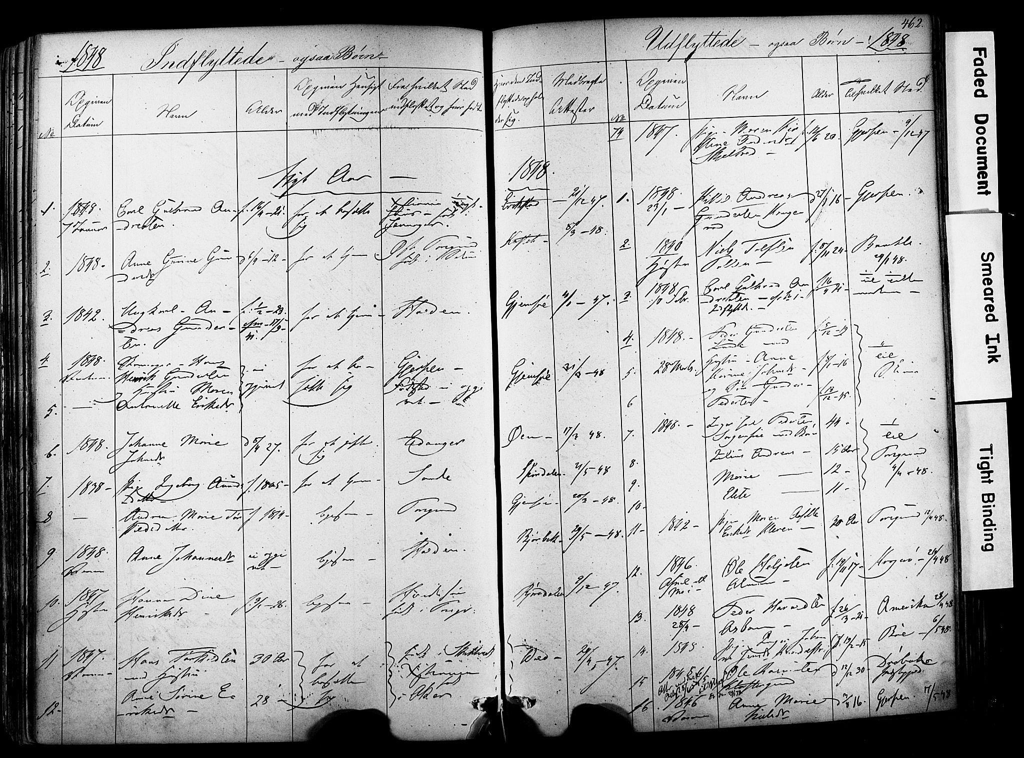 SAKO, Solum kirkebøker, F/Fa/L0006: Ministerialbok nr. I 6, 1844-1855, s. 462