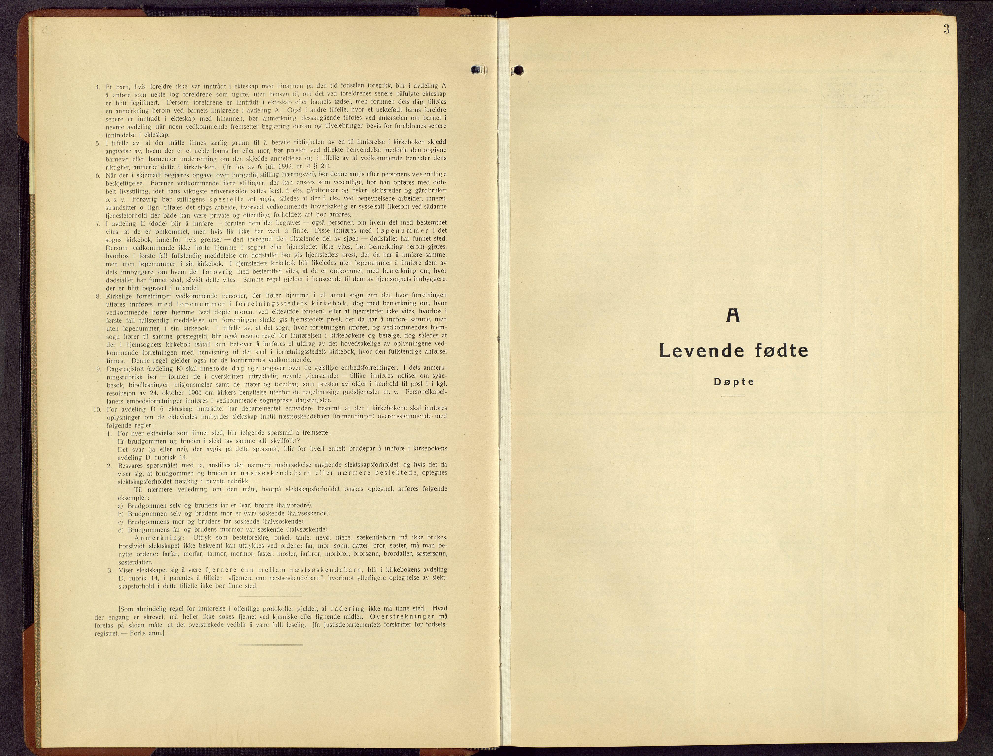 SAH, Rendalen prestekontor, H/Ha/Hab/L0006: Klokkerbok nr. 6, 1941-1958, s. 3