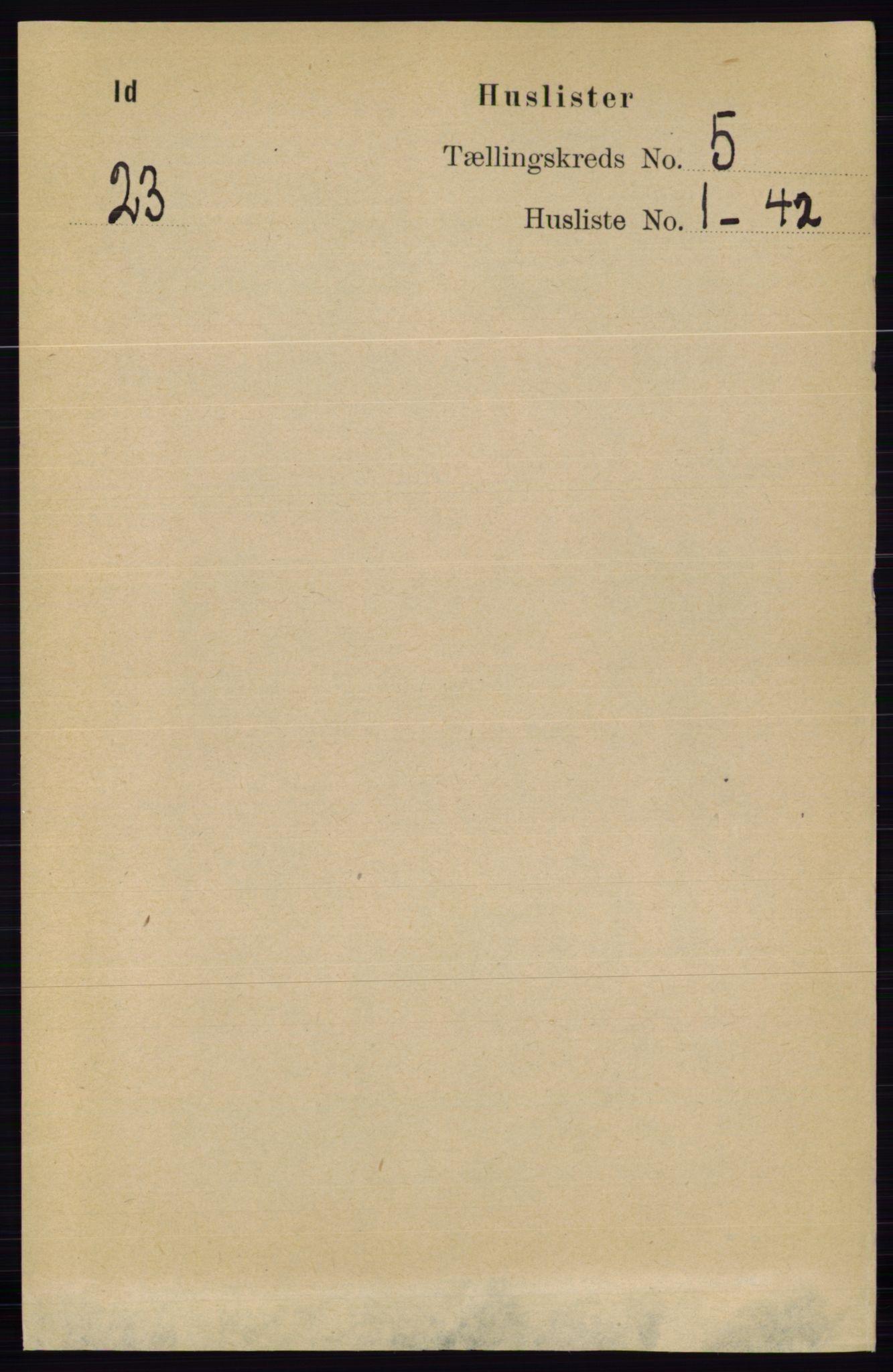RA, Folketelling 1891 for 0117 Idd herred, 1891, s. 3179