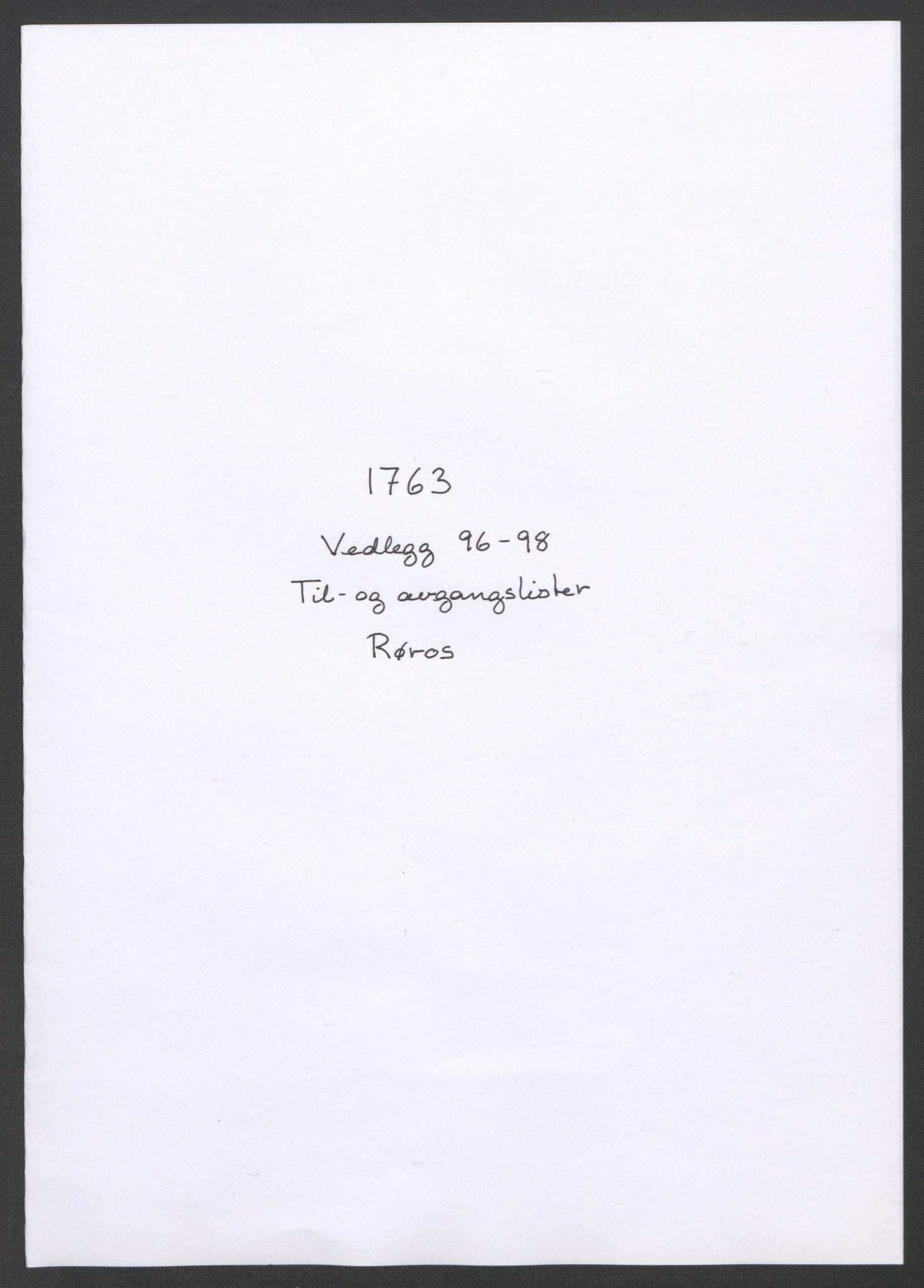 RA, Rentekammeret inntil 1814, Reviderte regnskaper, Fogderegnskap, R14/L0959: Ekstraskatten Solør og Odal, 1763-1770, s. 321