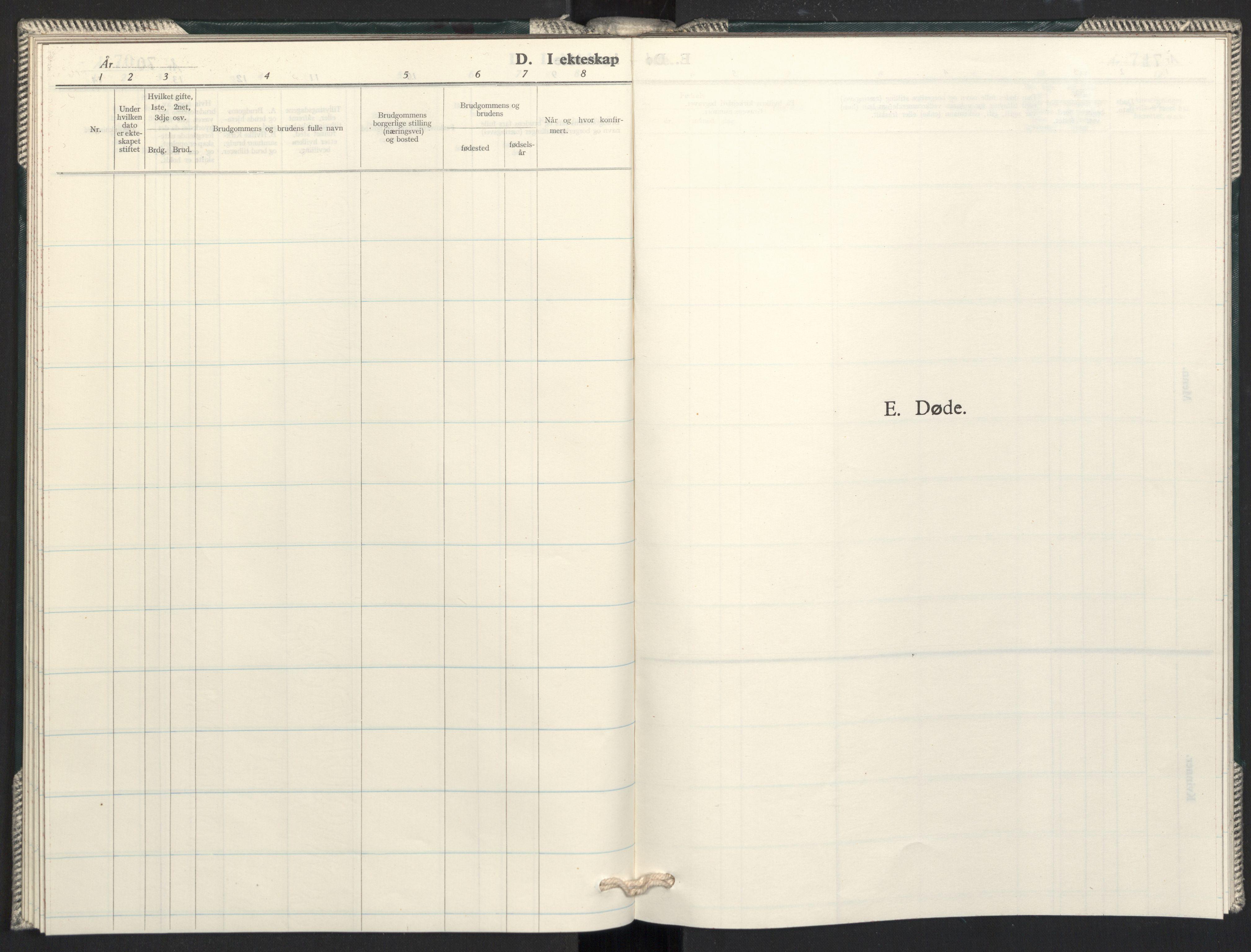 SAO, Prestekontoret i Sverige under okkupasjonen Kirkebøker, F/L0005: Ministerialbok nr. 5, 1945-1945