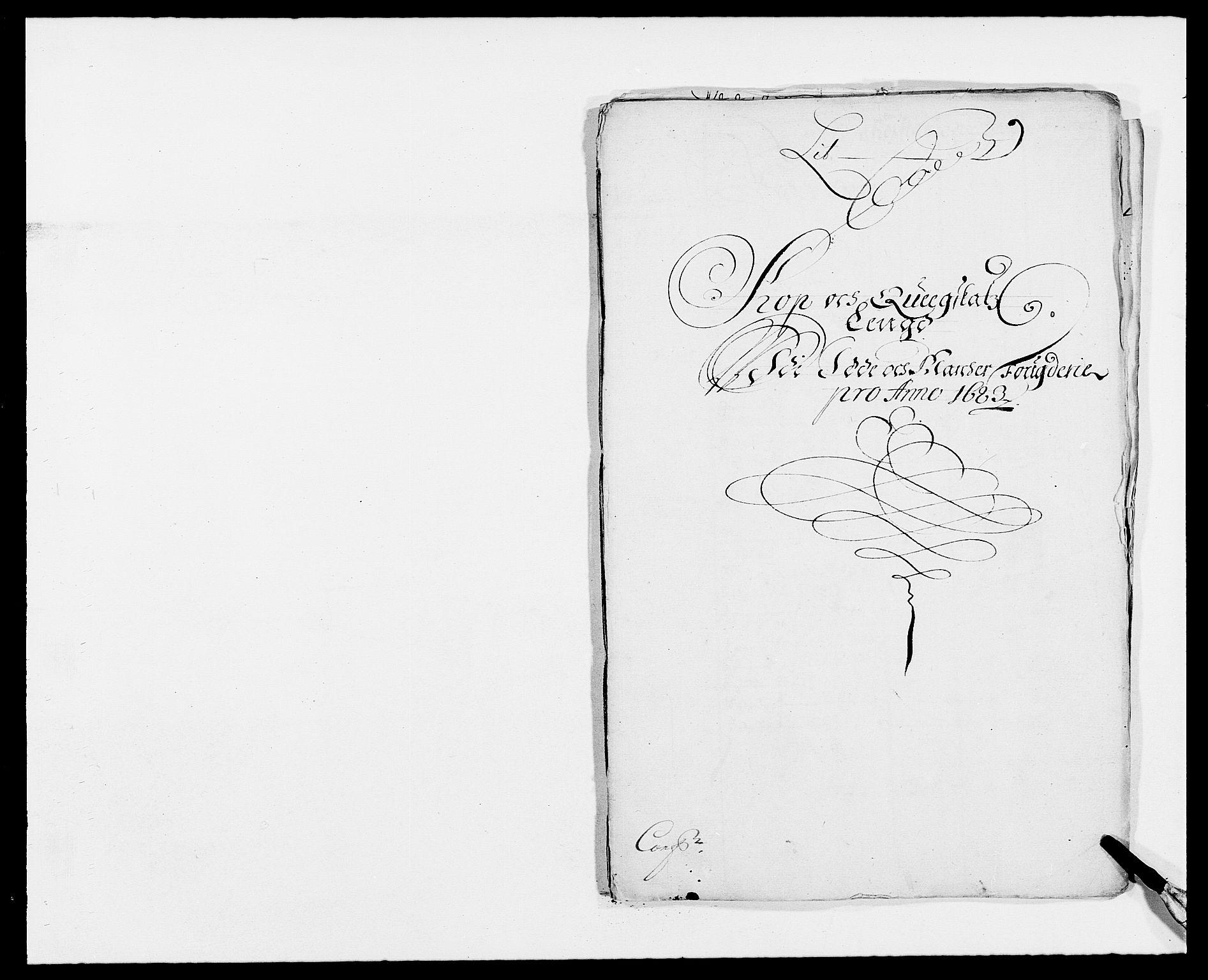 RA, Rentekammeret inntil 1814, Reviderte regnskaper, Fogderegnskap, R01/L0004: Fogderegnskap Idd og Marker , 1682-1683, s. 322