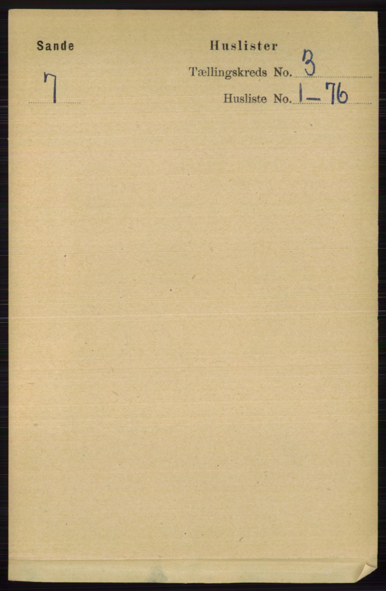 RA, Folketelling 1891 for 0713 Sande herred, 1891, s. 859