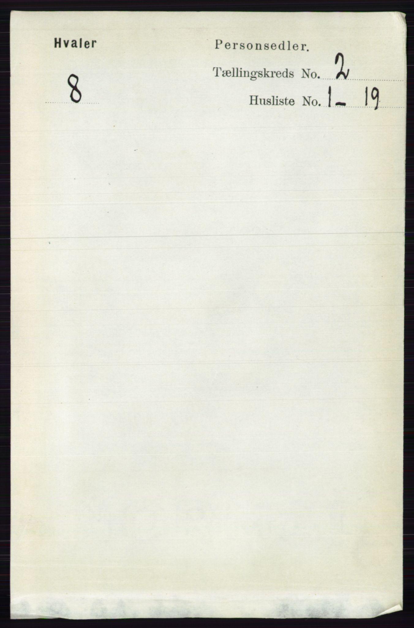 RA, Folketelling 1891 for 0111 Hvaler herred, 1891, s. 1004