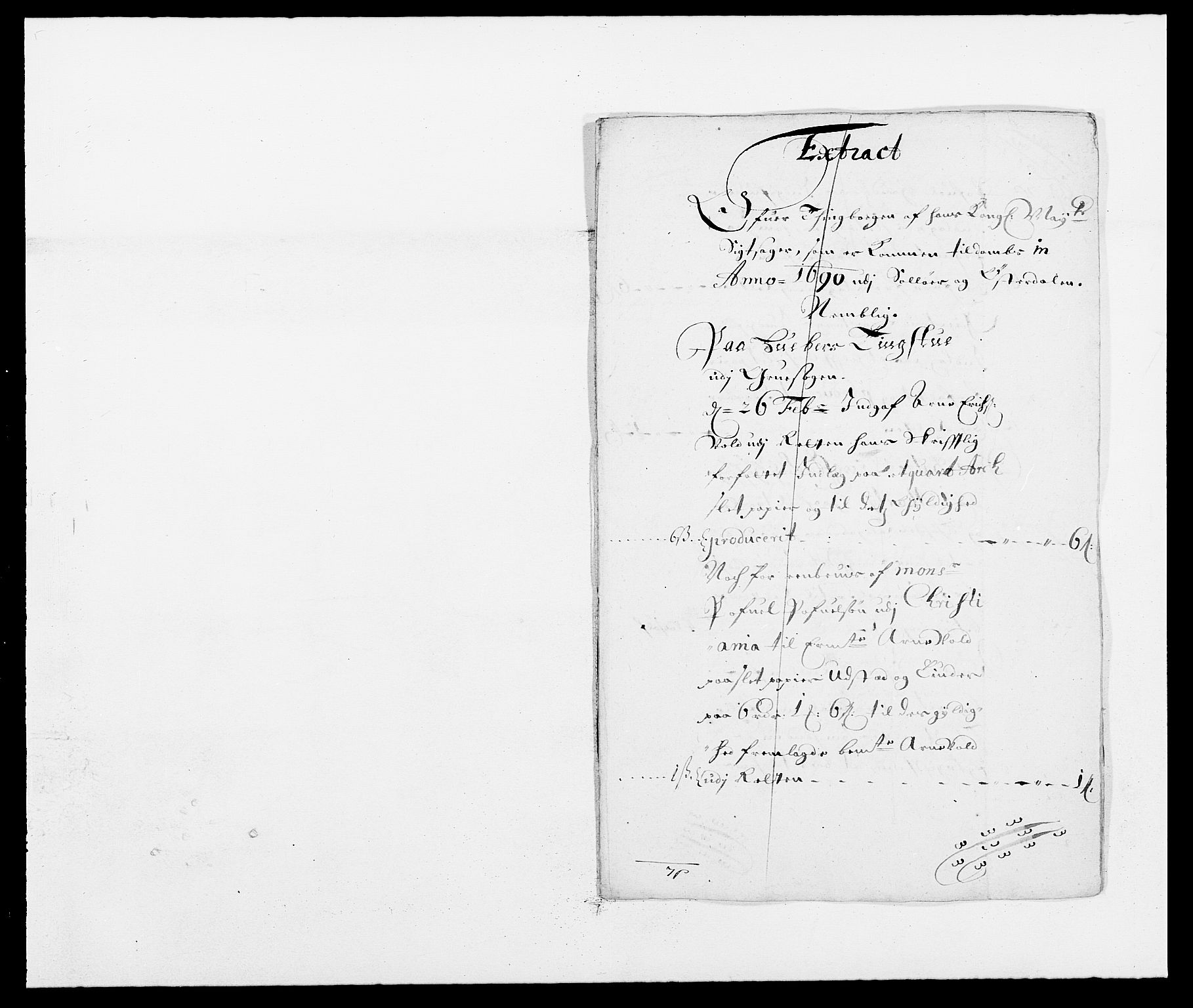 RA, Rentekammeret inntil 1814, Reviderte regnskaper, Fogderegnskap, R13/L0827: Fogderegnskap Solør, Odal og Østerdal, 1689, s. 222