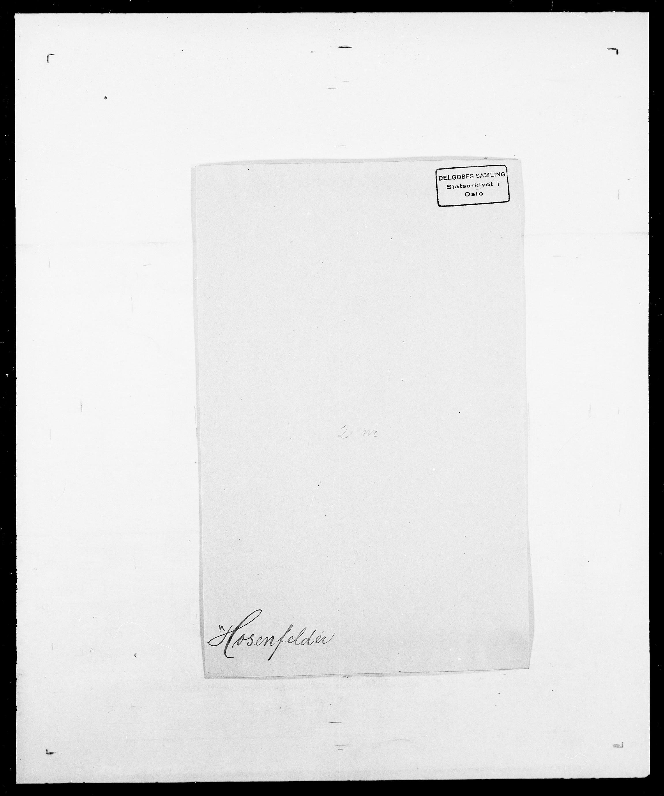 SAO, Delgobe, Charles Antoine - samling, D/Da/L0018: Hoch - Howert, s. 995