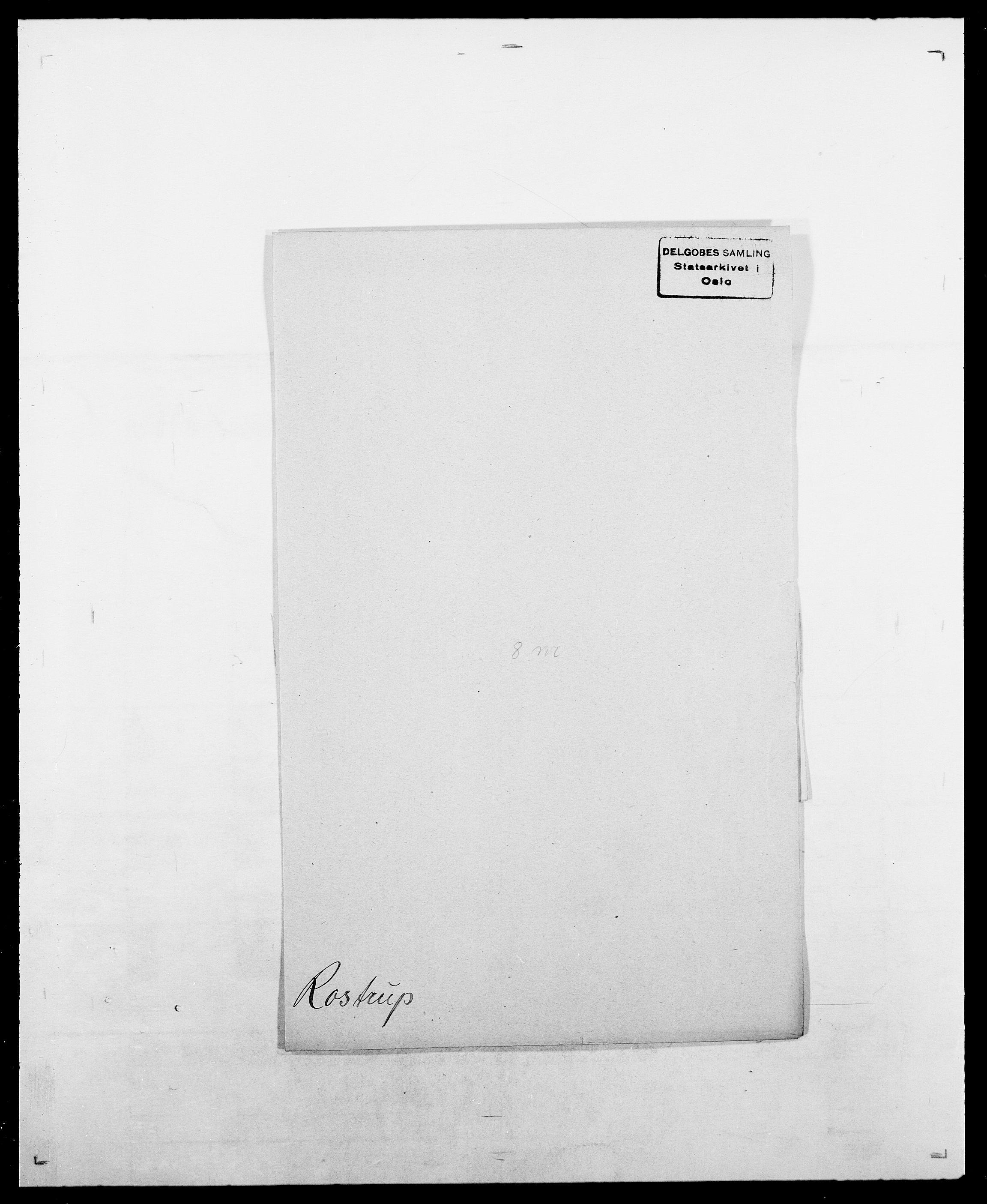 SAO, Delgobe, Charles Antoine - samling, D/Da/L0033: Roald - Røyem, s. 369