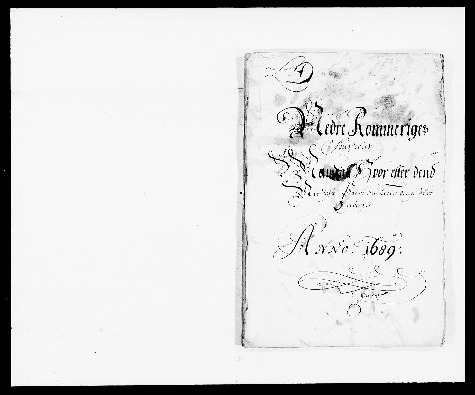 RA, Rentekammeret inntil 1814, Reviderte regnskaper, Fogderegnskap, R11/L0574: Fogderegnskap Nedre Romerike, 1689-1690, s. 14