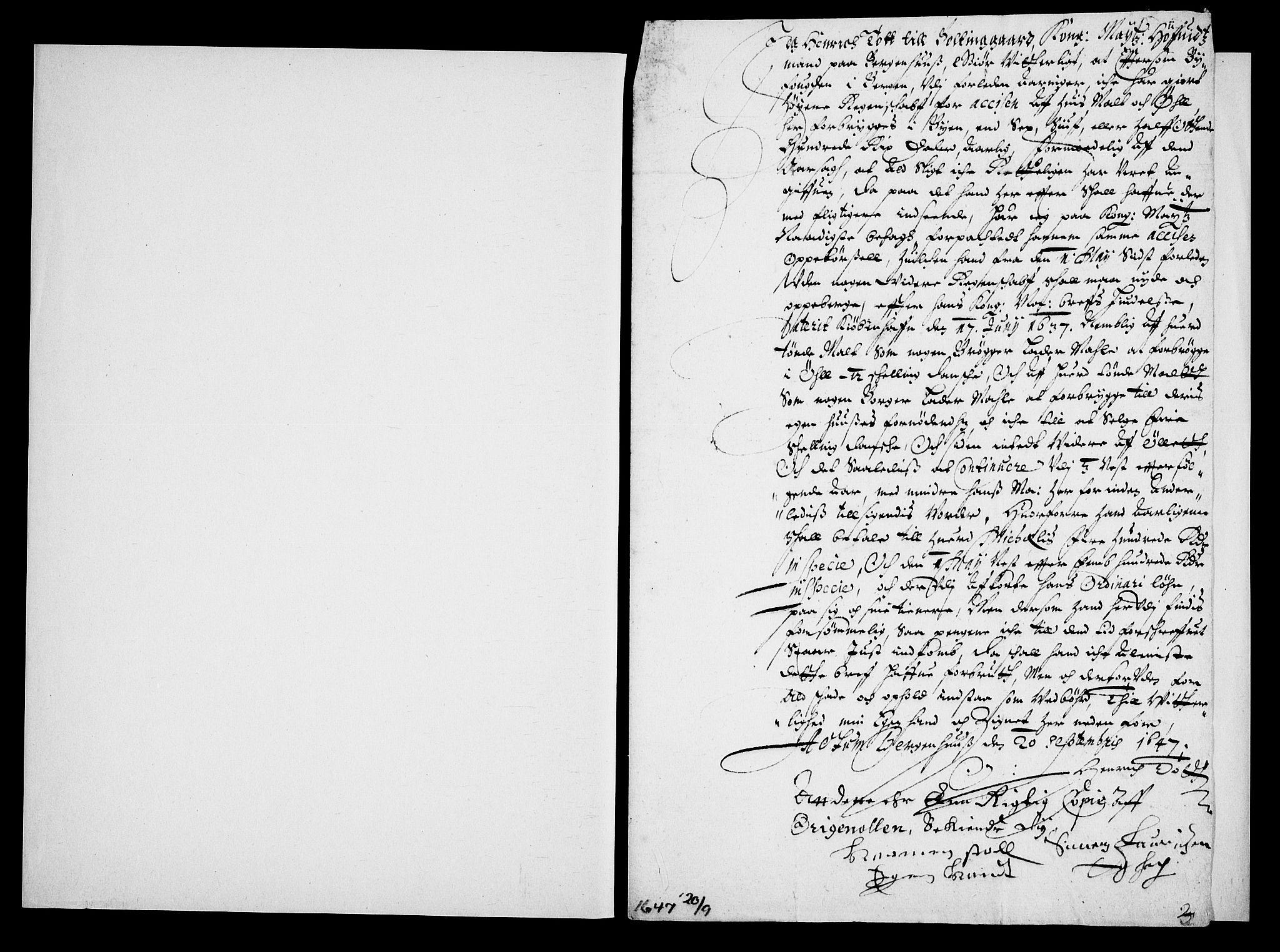 RA, Danske Kanselli, Skapsaker, G/L0019: Tillegg til skapsakene, 1616-1753, s. 112