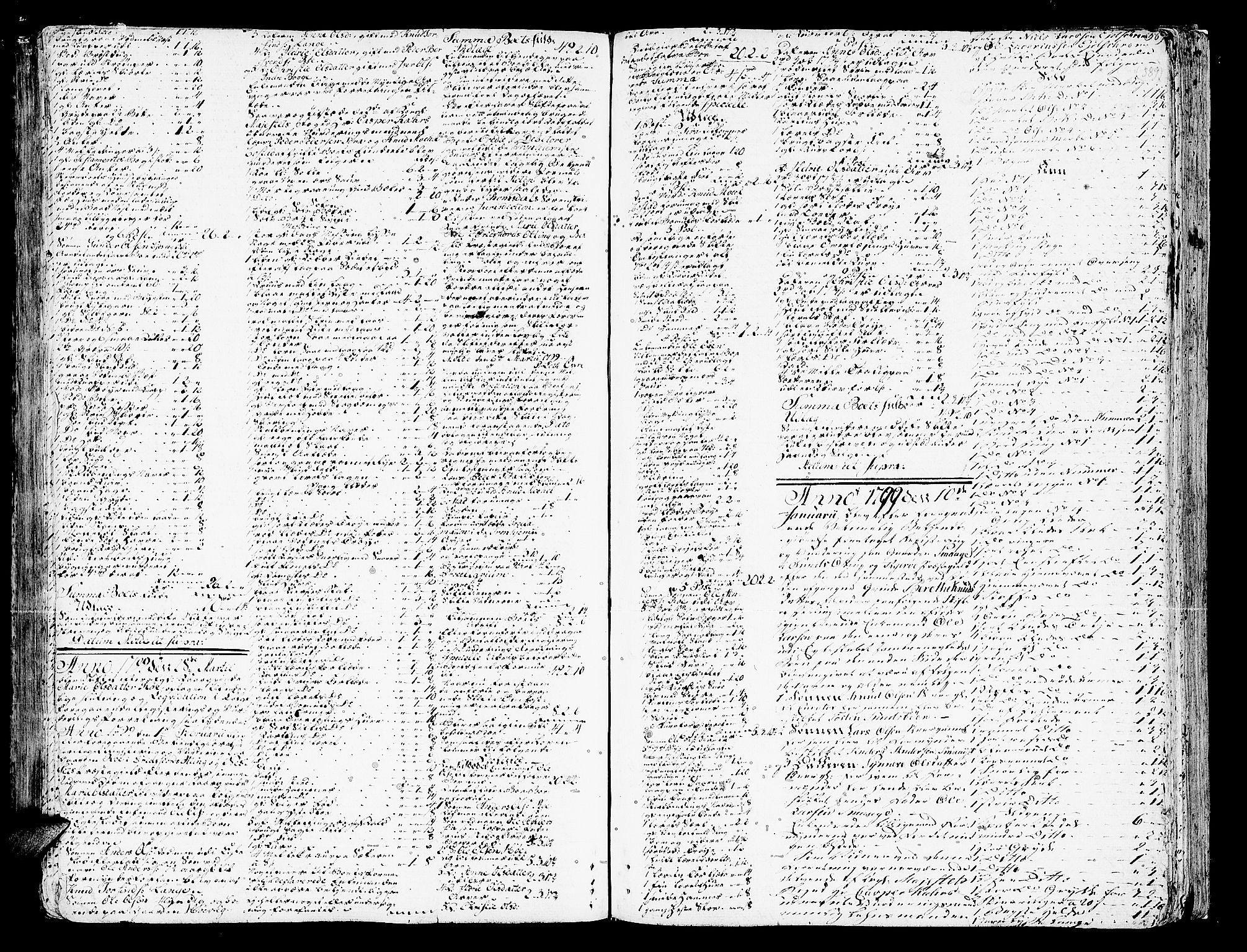 SAT, Romsdal sorenskriveri, 3/3A/L0012: Skifteprotokoll, 1789-1802, s. 388b-389a