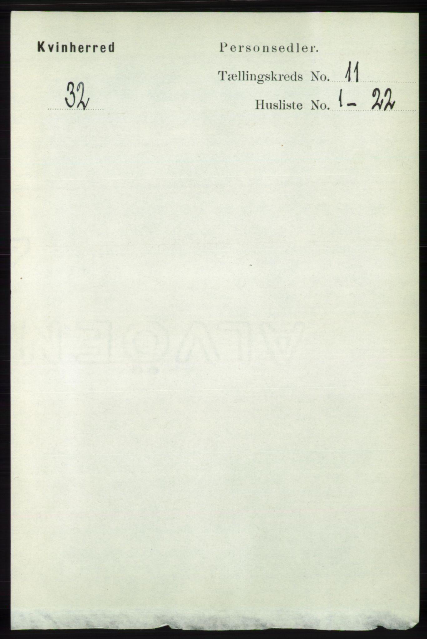 RA, Folketelling 1891 for 1224 Kvinnherad herred, 1891, s. 3809