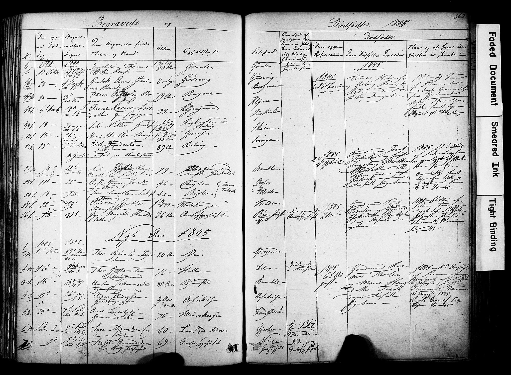 SAKO, Solum kirkebøker, F/Fa/L0006: Ministerialbok nr. I 6, 1844-1855, s. 362
