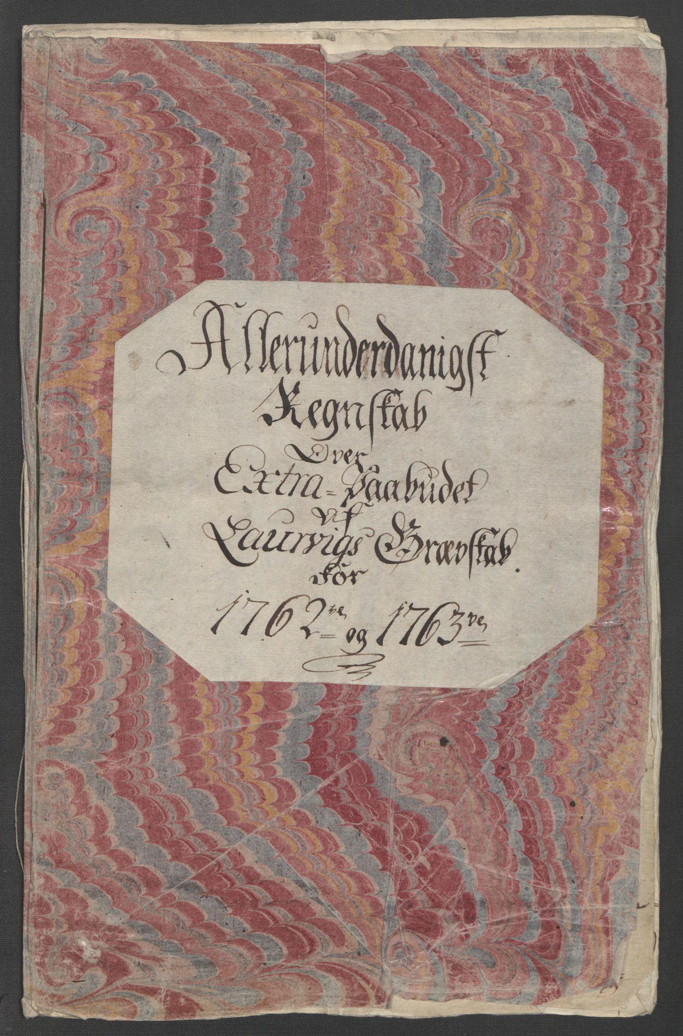 RA, Rentekammeret inntil 1814, Reviderte regnskaper, Fogderegnskap, R33/L2033: Ekstraskatten Larvik grevskap, 1762-1764, s. 4