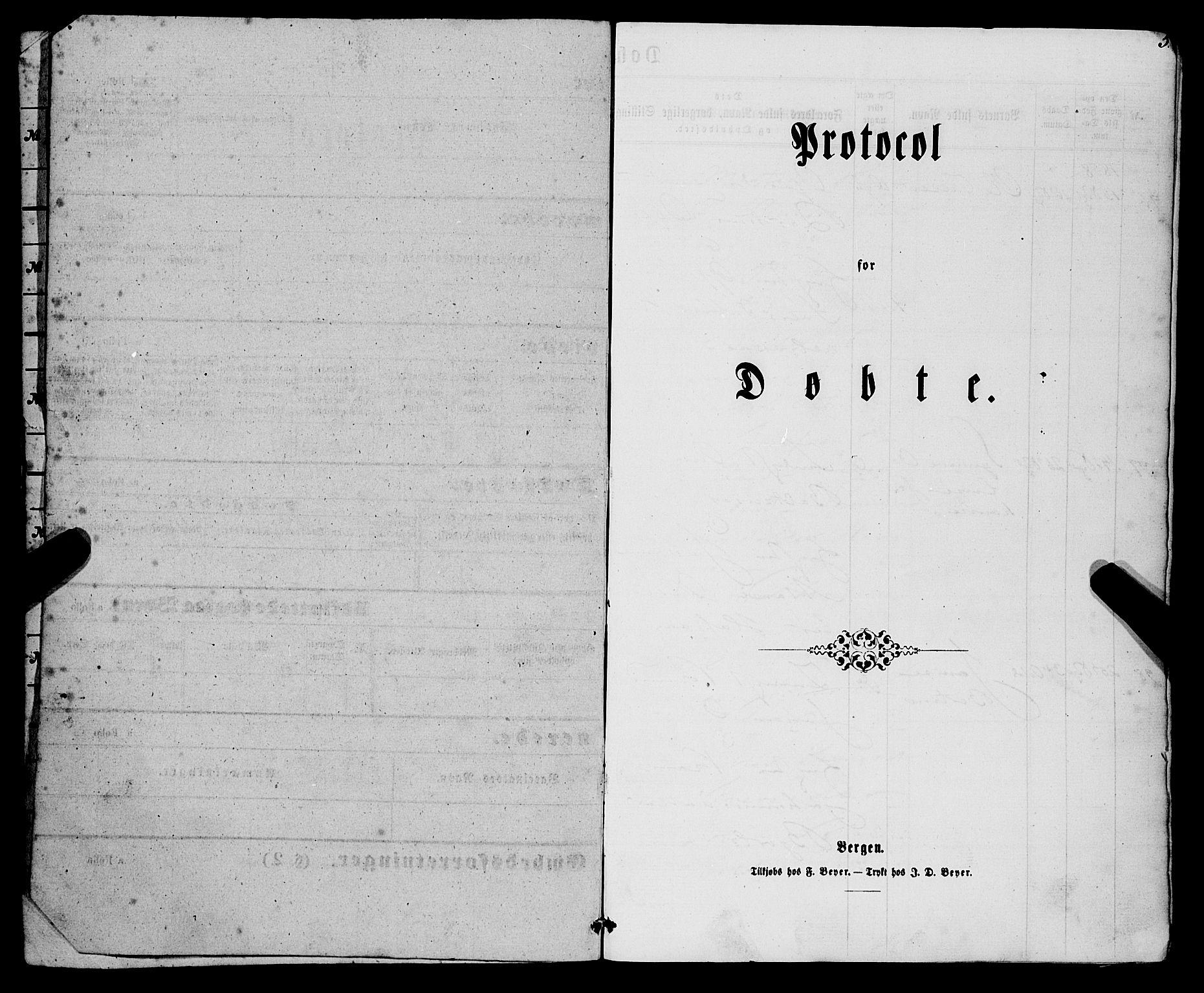 SAB, Eid Sokneprestembete, H/Haa: Ministerialbok nr. A 8, 1858-1860, s. 5