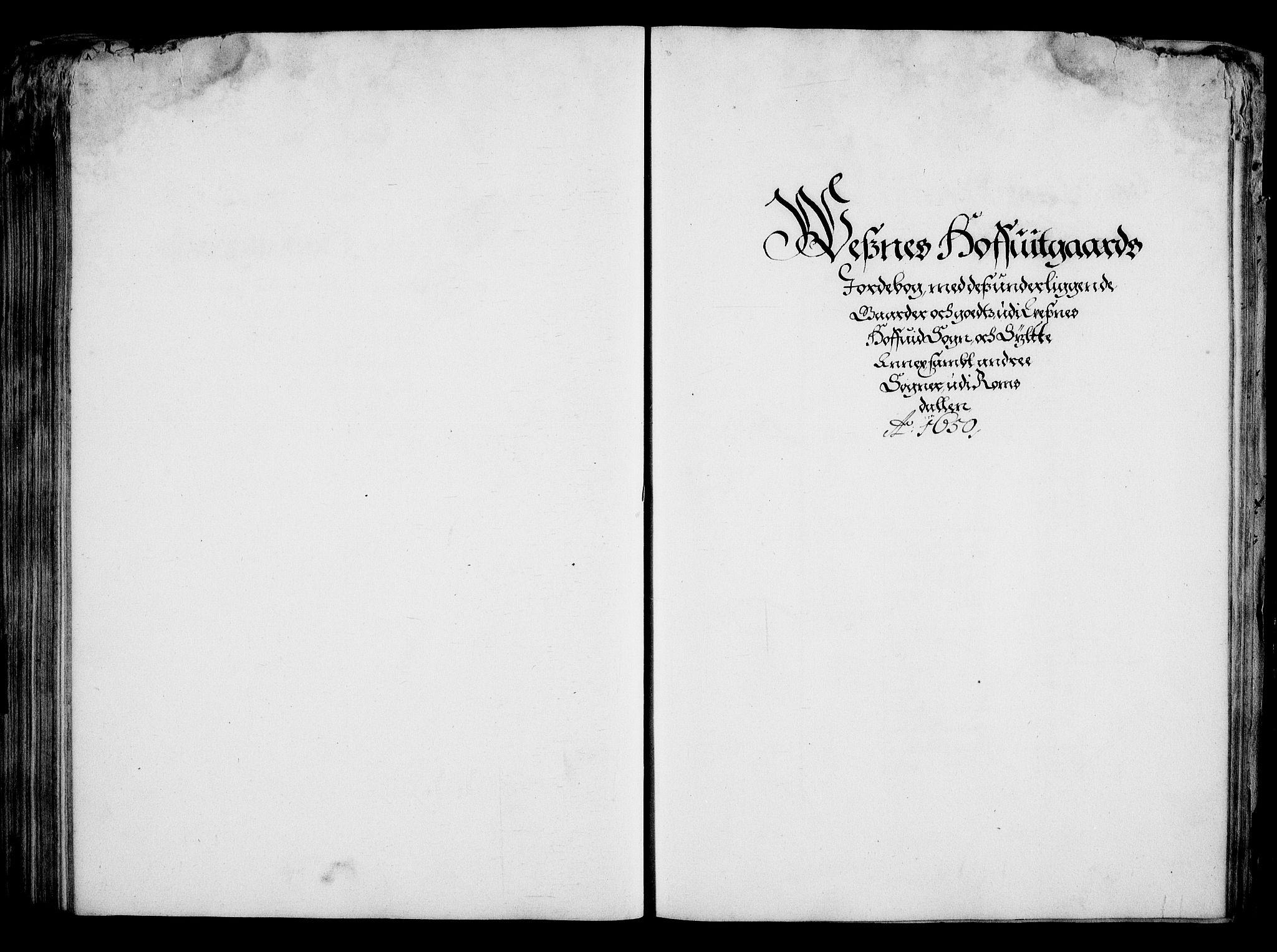 RA, Rentekammeret inntil 1814, Realistisk ordnet avdeling, On/L0001: Statens gods, 1651, s. 201