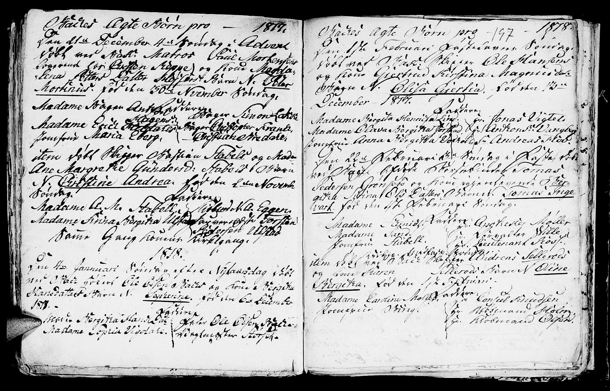 SAT, Ministerialprotokoller, klokkerbøker og fødselsregistre - Sør-Trøndelag, 604/L0218: Klokkerbok nr. 604C01, 1754-1819, s. 197