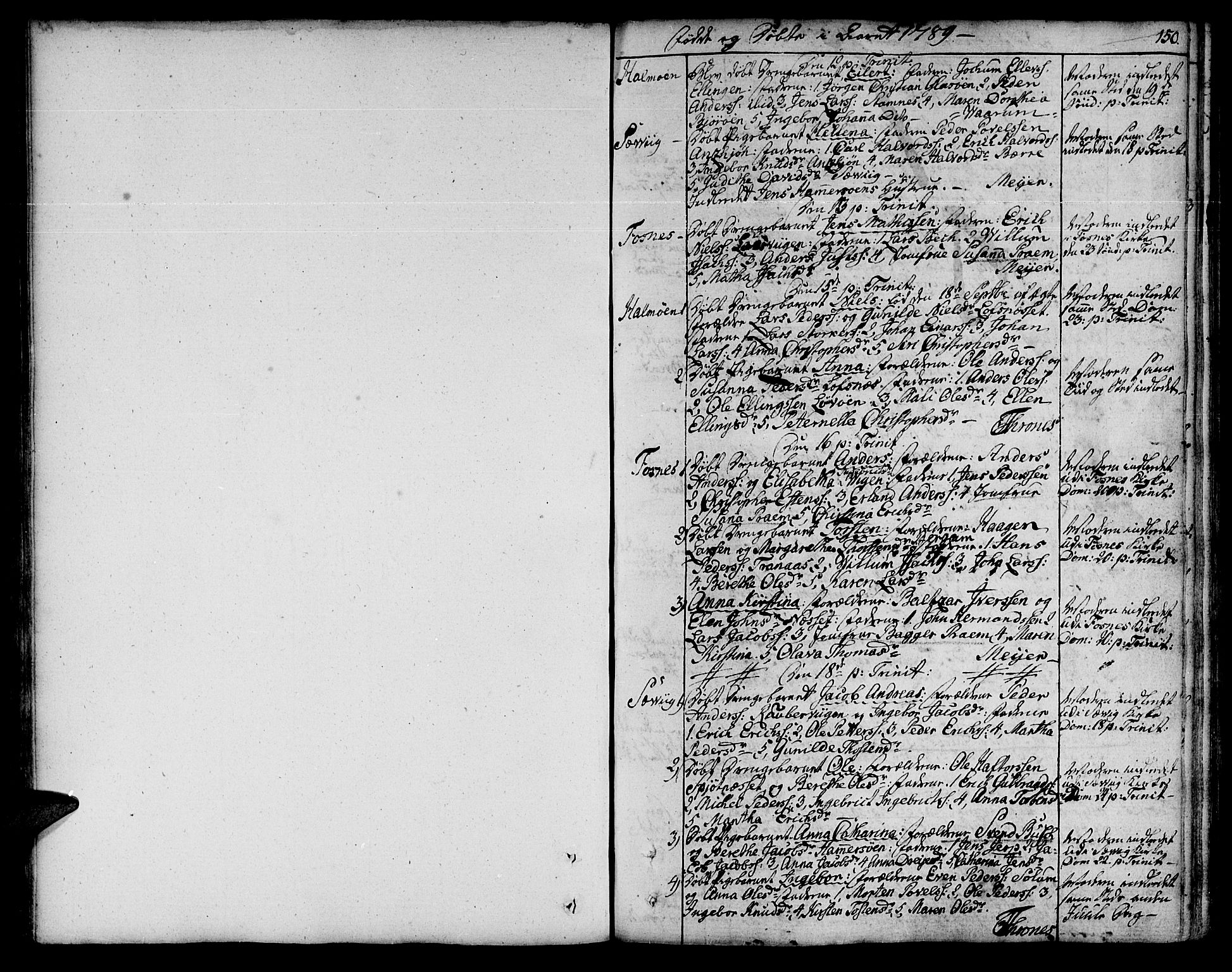 SAT, Ministerialprotokoller, klokkerbøker og fødselsregistre - Nord-Trøndelag, 773/L0608: Ministerialbok nr. 773A02, 1784-1816, s. 150