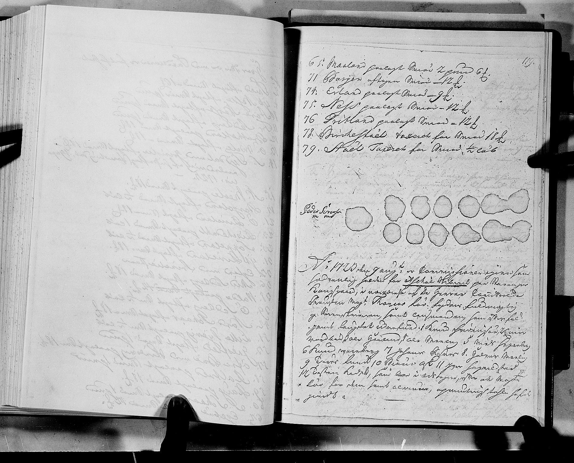 RA, Rentekammeret inntil 1814, Realistisk ordnet avdeling, N/Nb/Nbf/L0133a: Ryfylke eksaminasjonsprotokoll, 1723, s. 119a