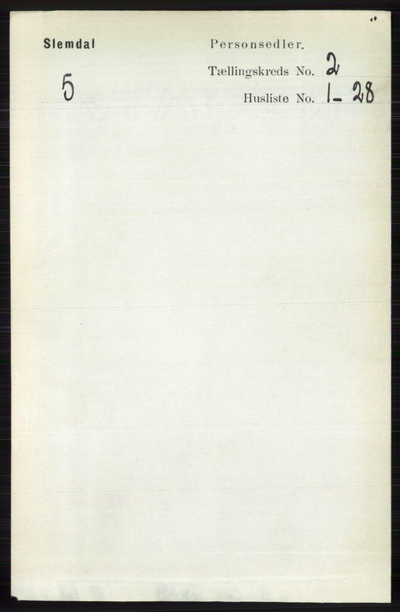 RA, Folketelling 1891 for 0811 Slemdal herred, 1891, s. 366