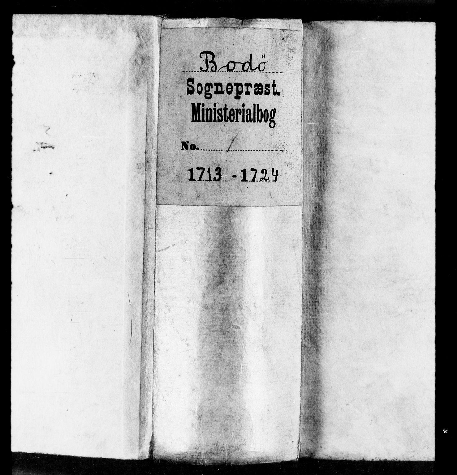 SAT, Ministerialprotokoller, klokkerbøker og fødselsregistre - Nordland, 801/L0001: Ministerialbok nr. 801A01, 1713-1724