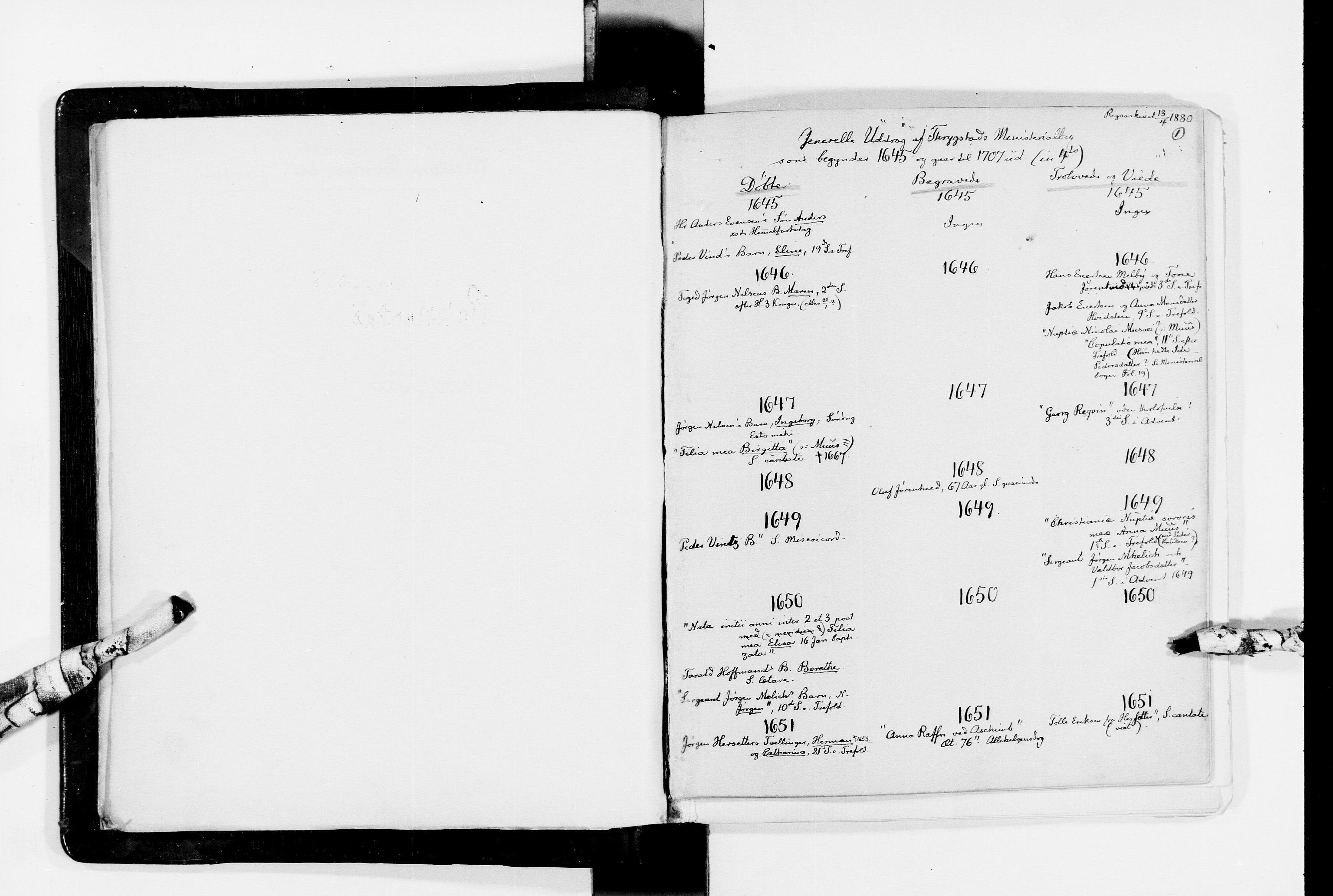 RA, Lassens samlinger, F/Fc, s. 1