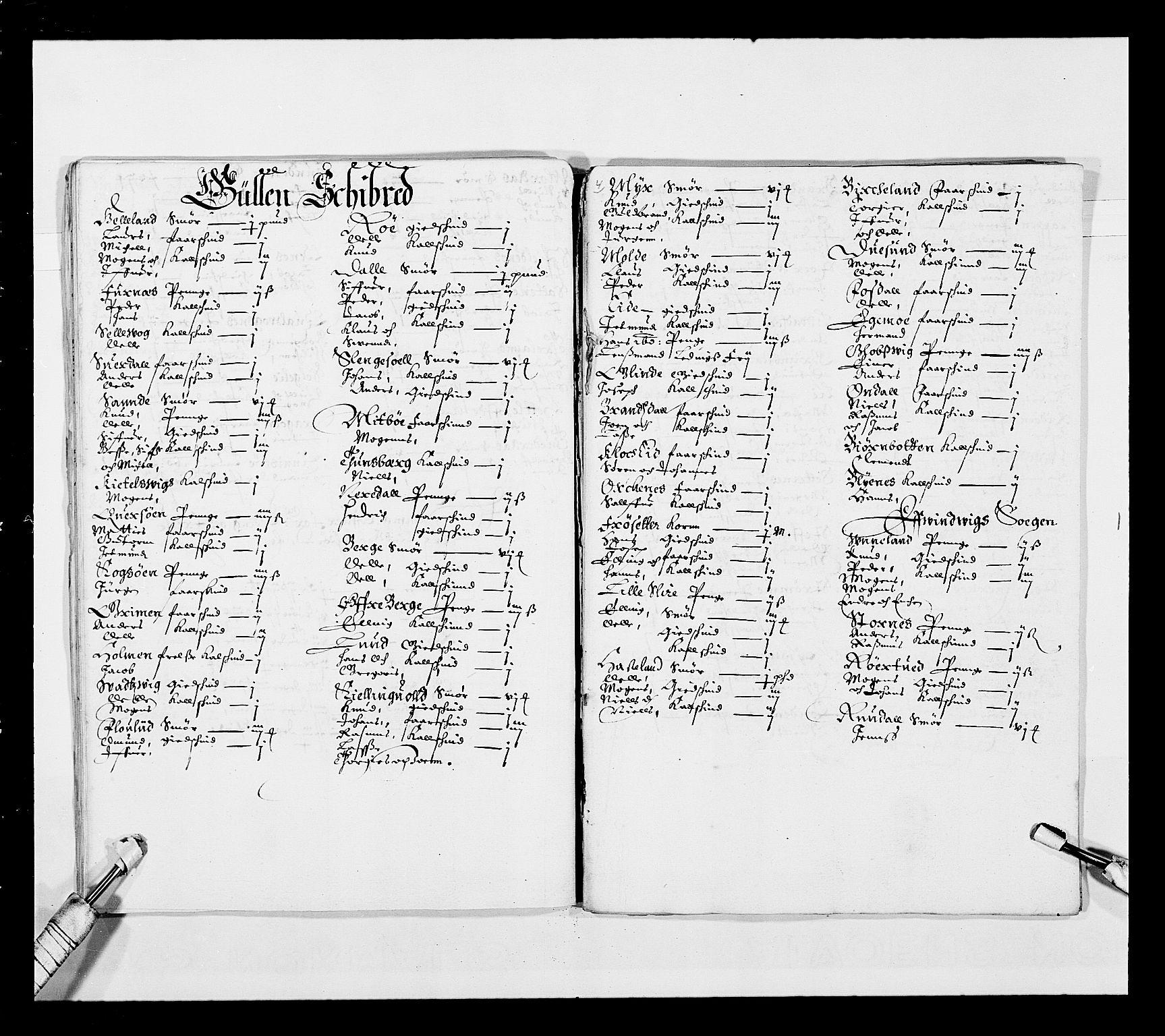 RA, Stattholderembetet 1572-1771, Ek/L0025: Jordebøker 1633-1658:, 1645-1646, s. 94
