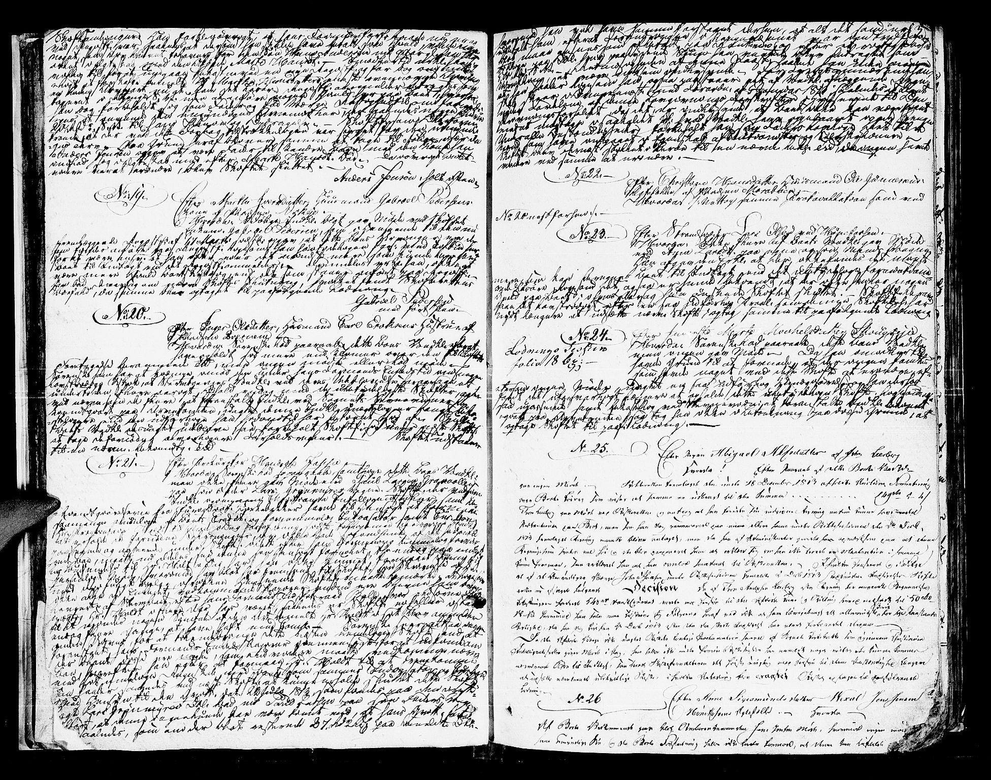 SAKO, Ringerike og Hallingdal sorenskriveri, H/Ha/L0025a: Skifteprotokoll, 1815-1822, s. 12b-13a