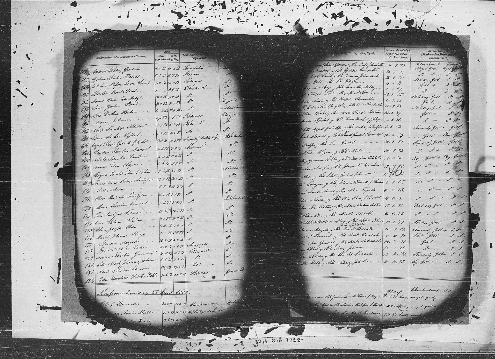 SAT, Ministerialprotokoller, klokkerbøker og fødselsregistre - Møre og Romsdal, 572/L0852: Ministerialbok nr. 572A15, 1880-1900, s. 46