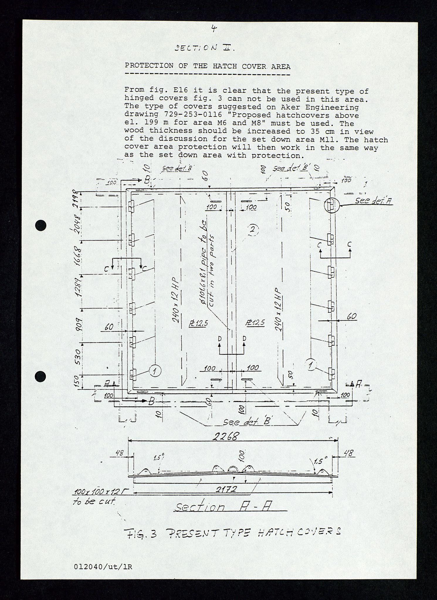 SAST, Pa 1339 - Statoil ASA, D/Dm/L0348: Gravitasjonsplattform betong, 1975-1978, s. 104