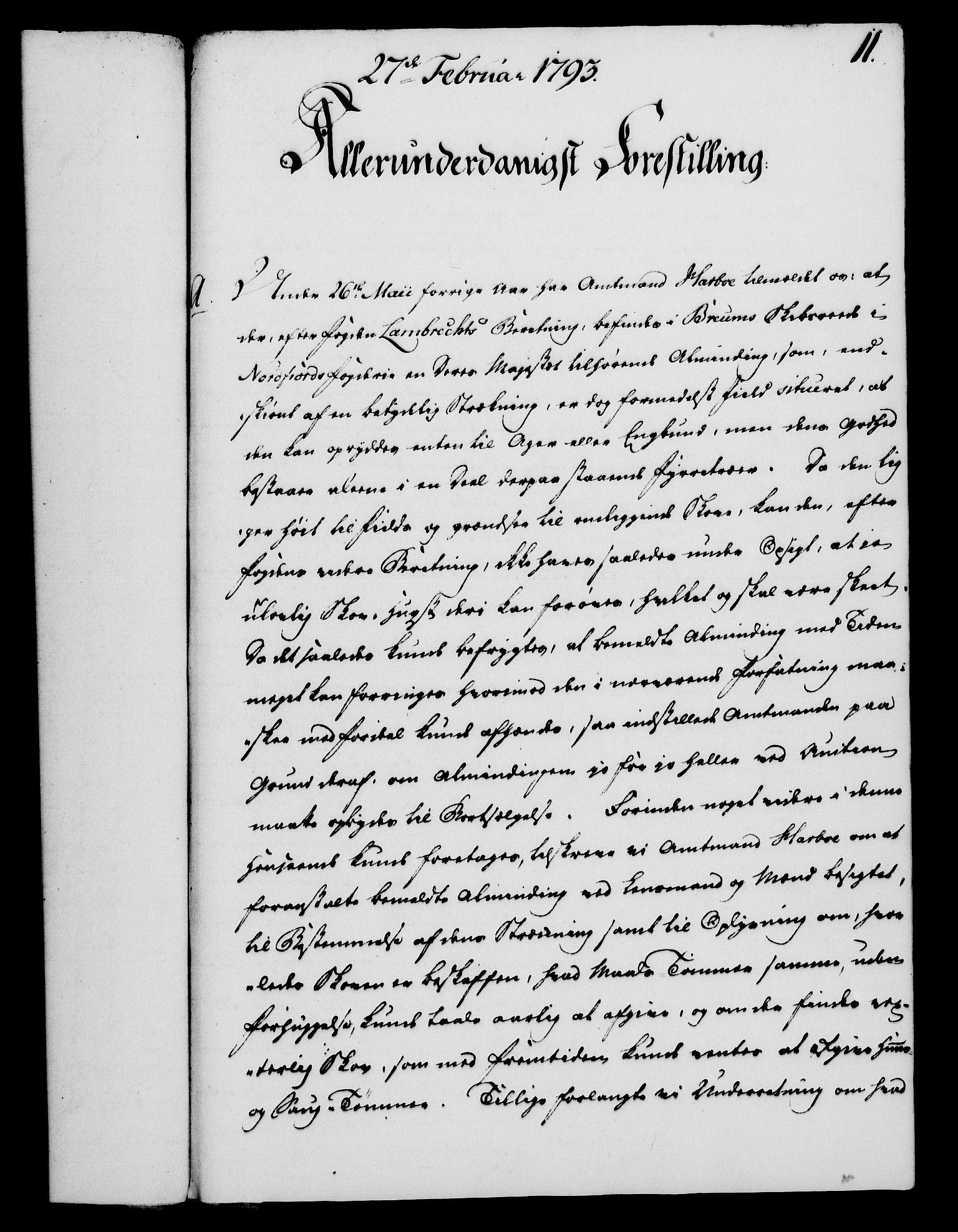 RA, Rentekammeret, Kammerkanselliet, G/Gf/Gfa/L0075: Norsk relasjons- og resolusjonsprotokoll (merket RK 52.75), 1793, s. 70