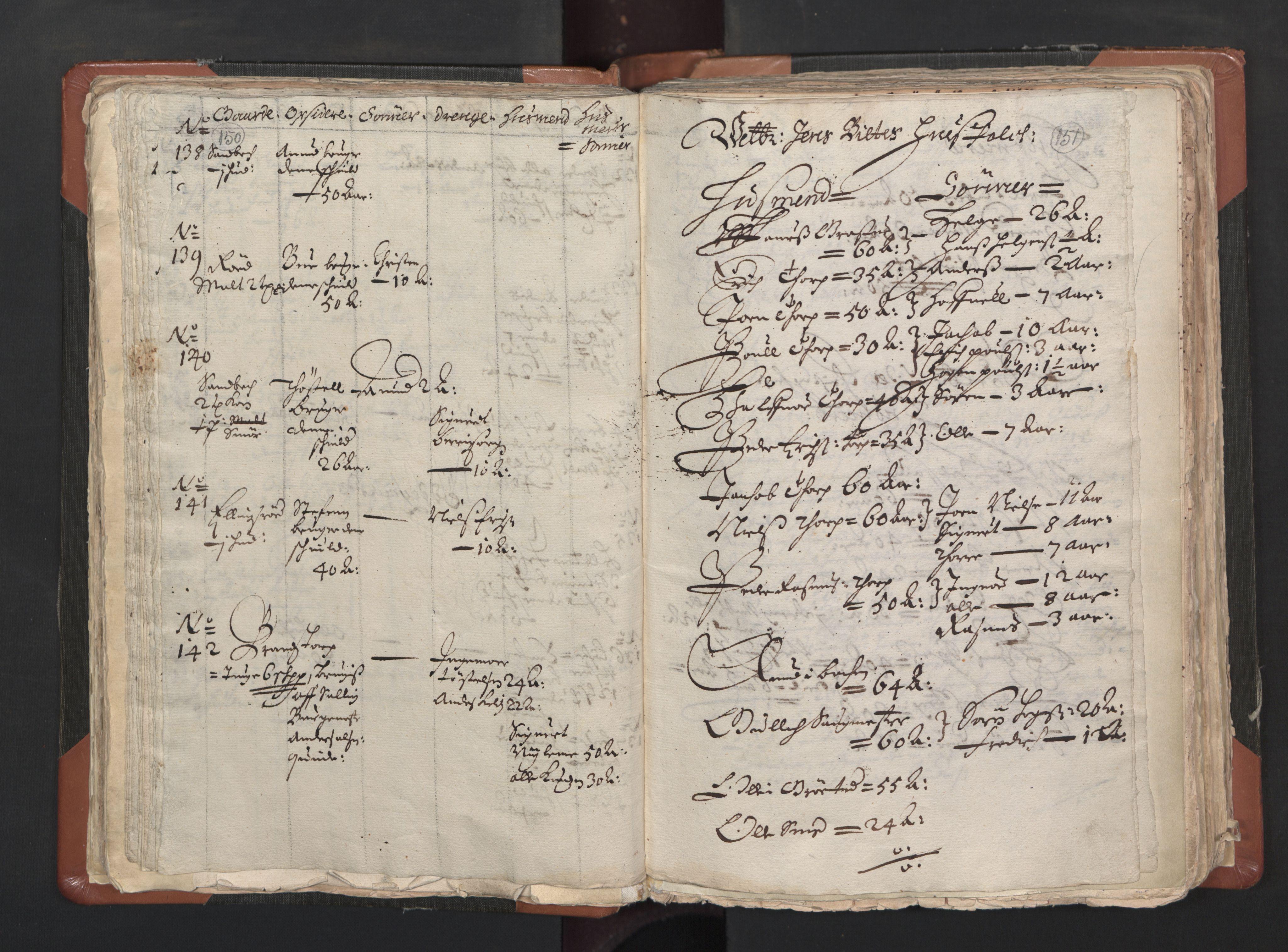RA, Sogneprestenes manntall 1664-1666, nr. 1: Nedre Borgesyssel prosti, 1664-1666, s. 150-151