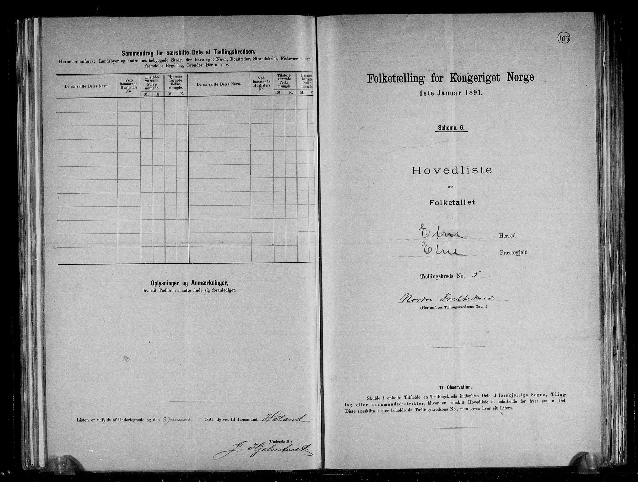 RA, Folketelling 1891 for 1211 Etne herred, 1891, s. 16