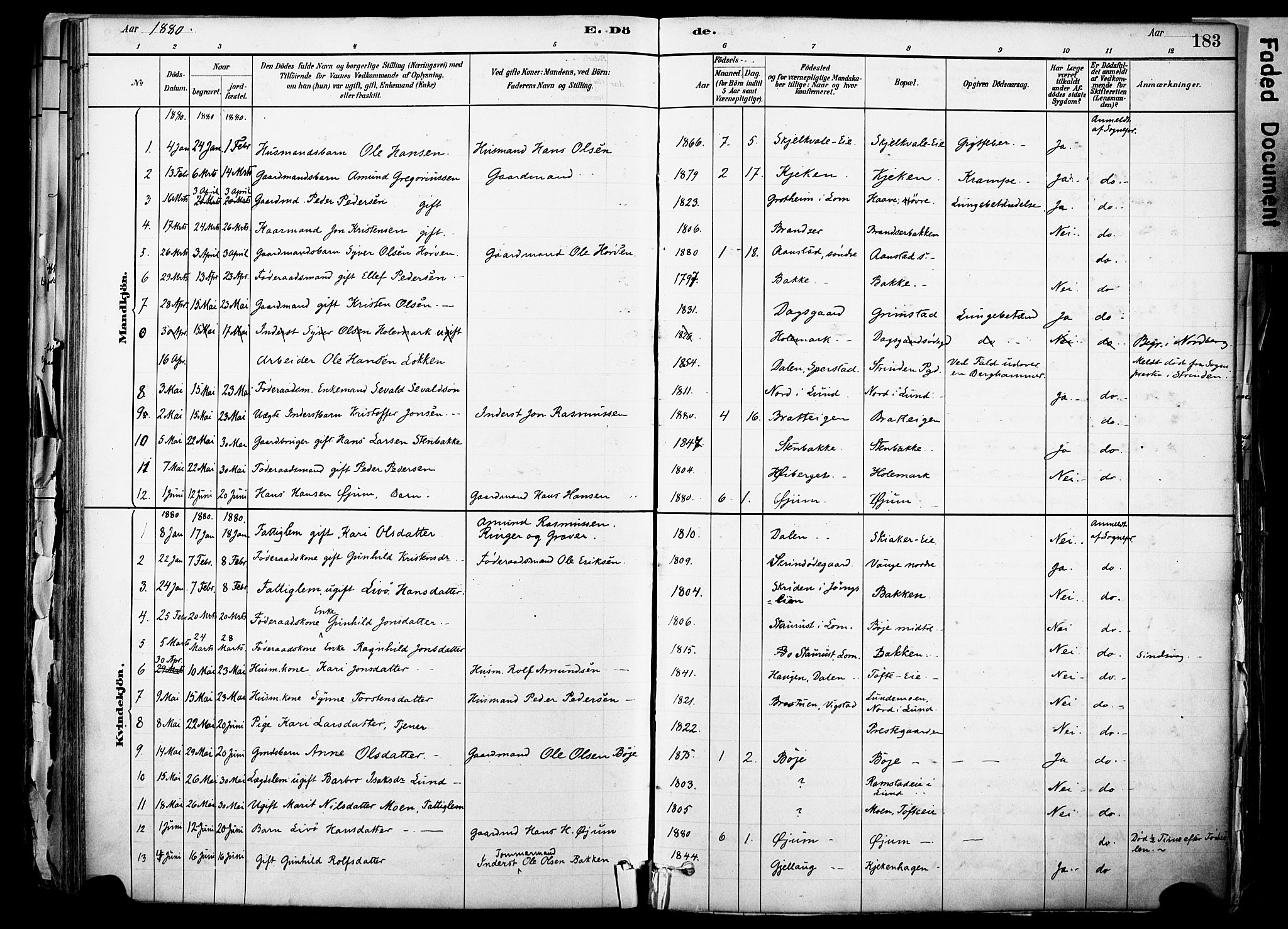 SAH, Skjåk prestekontor, Ministerialbok nr. 3, 1880-1907, s. 183