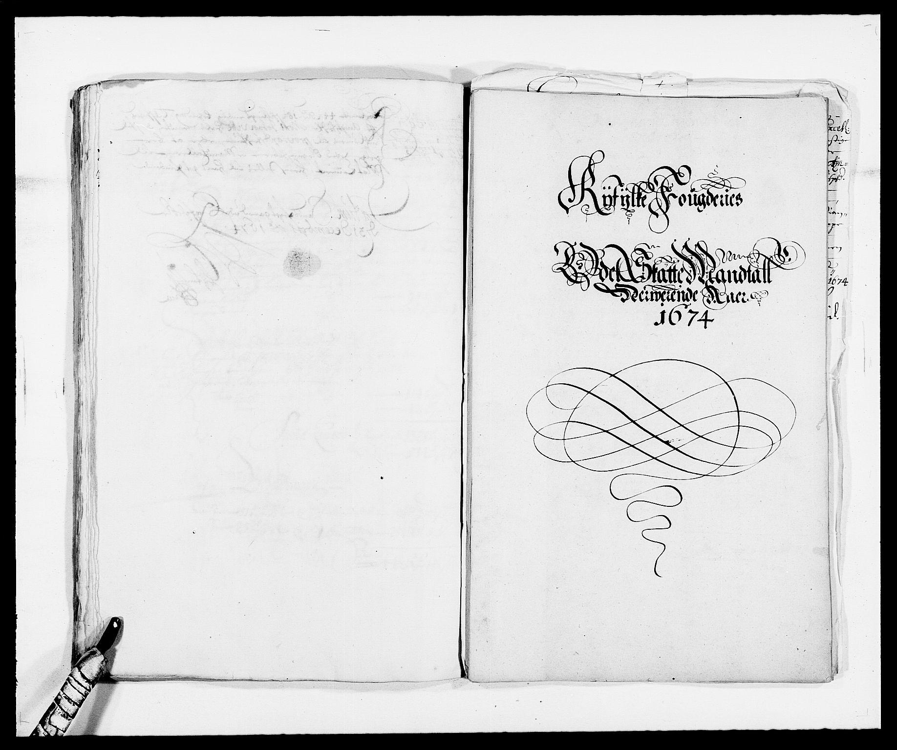 RA, Rentekammeret inntil 1814, Reviderte regnskaper, Fogderegnskap, R47/L2845: Fogderegnskap Ryfylke, 1674-1675, s. 134