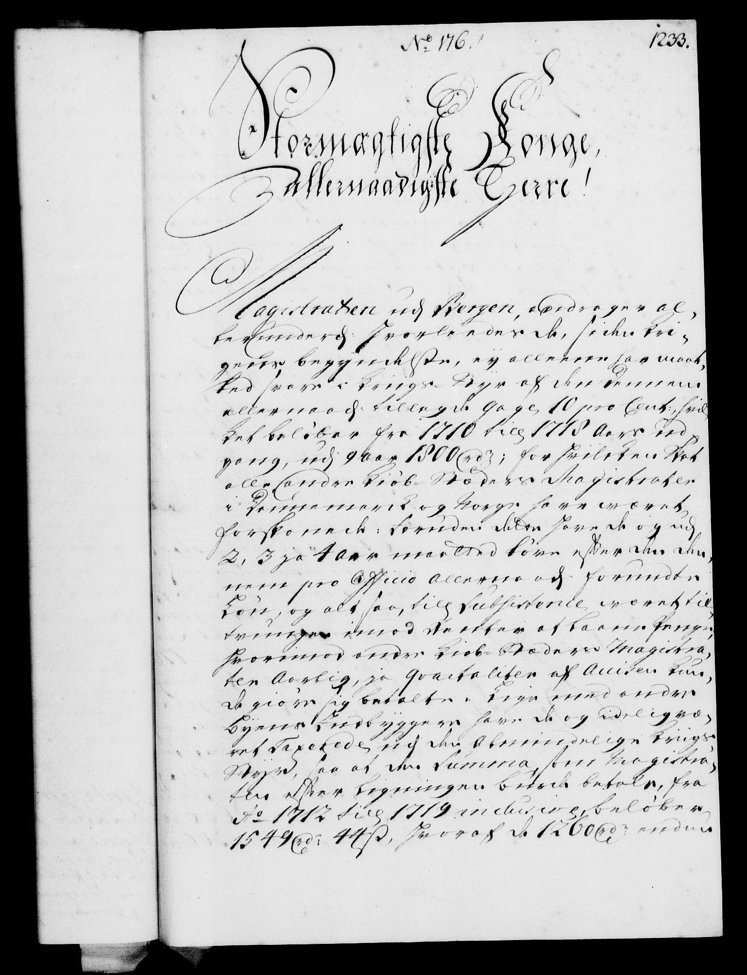 RA, Rentekammeret, Kammerkanselliet, G/Gf/Gfa/L0003: Norsk relasjons- og resolusjonsprotokoll (merket RK 52.3), 1720, s. 207