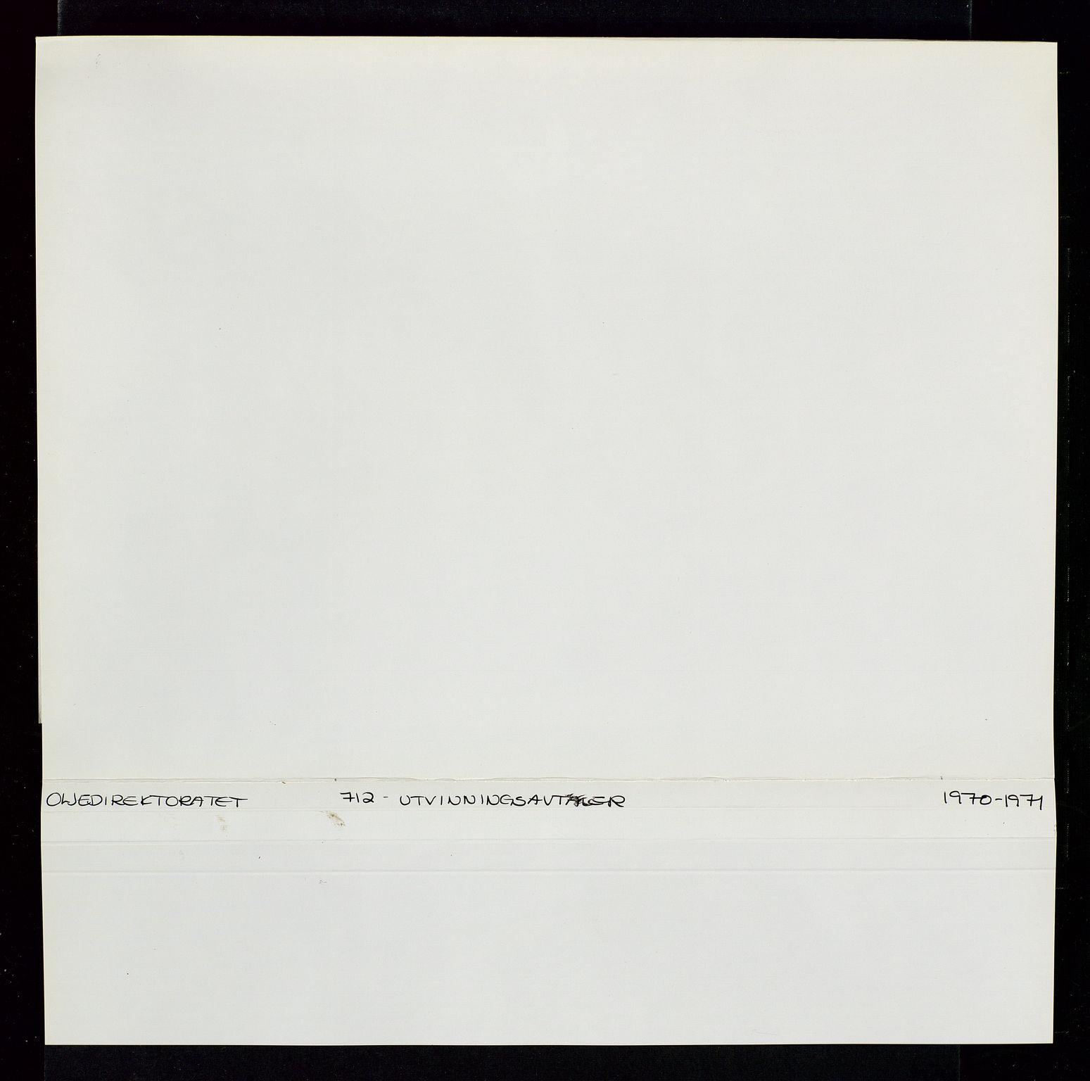 SAST, Industridepartementet, Oljekontoret, Da/L0004: Arkivnøkkel 711 - 712 Utvinningstillatelser, 1970-1971, s. 349