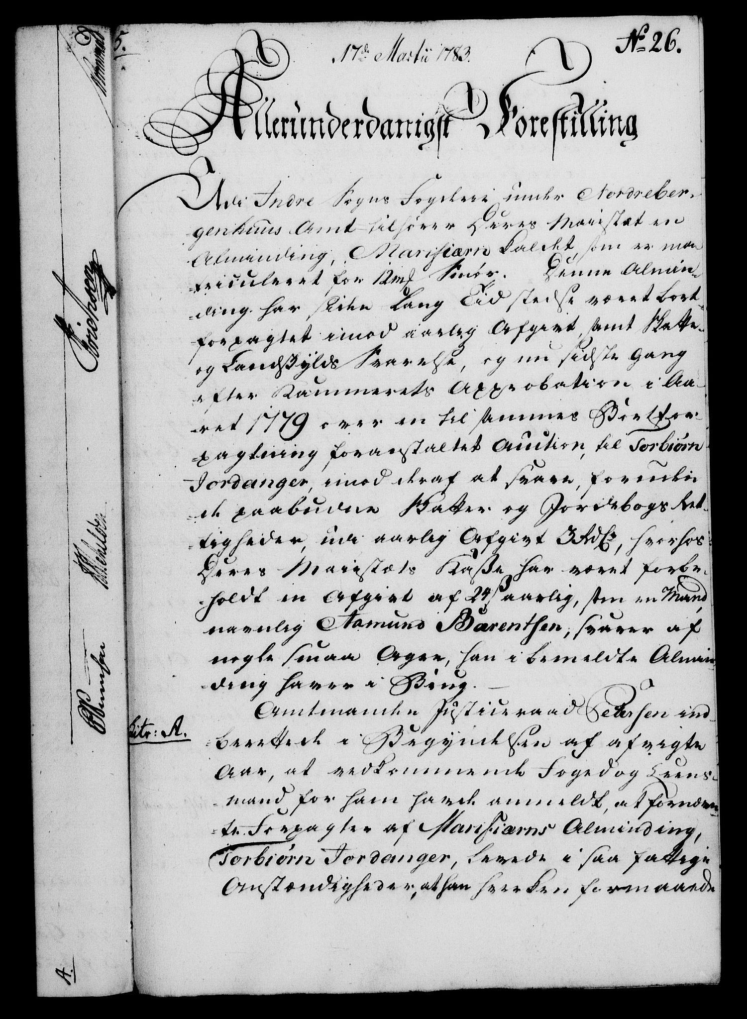 RA, Rentekammeret, Kammerkanselliet, G/Gf/Gfa/L0065: Norsk relasjons- og resolusjonsprotokoll (merket RK 52.65), 1783, s. 169