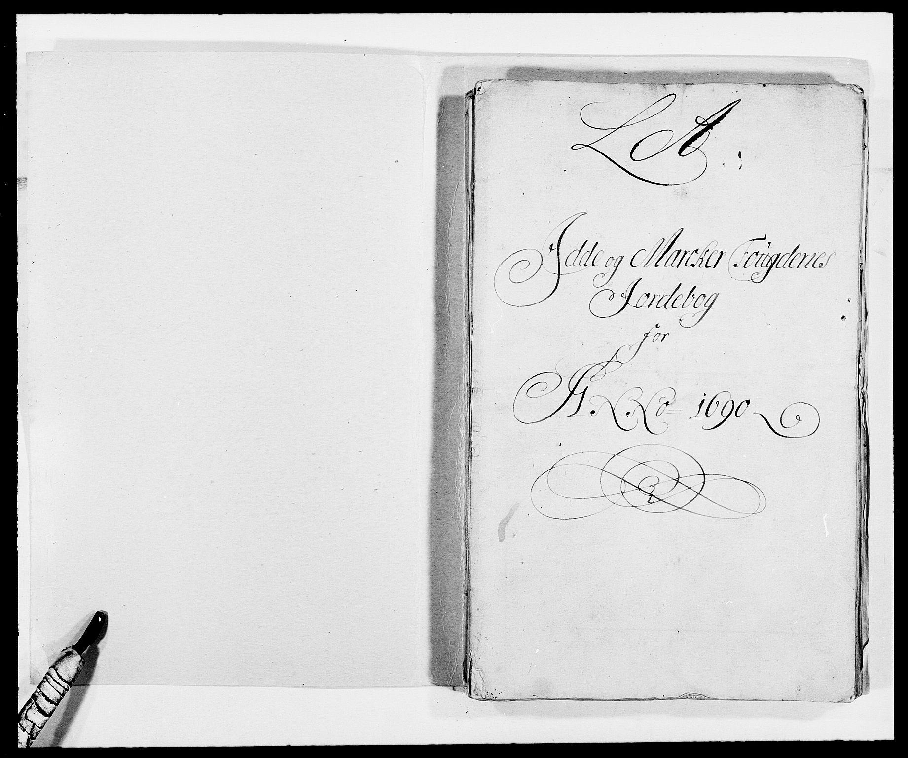 RA, Rentekammeret inntil 1814, Reviderte regnskaper, Fogderegnskap, R01/L0010: Fogderegnskap Idd og Marker, 1690-1691, s. 167