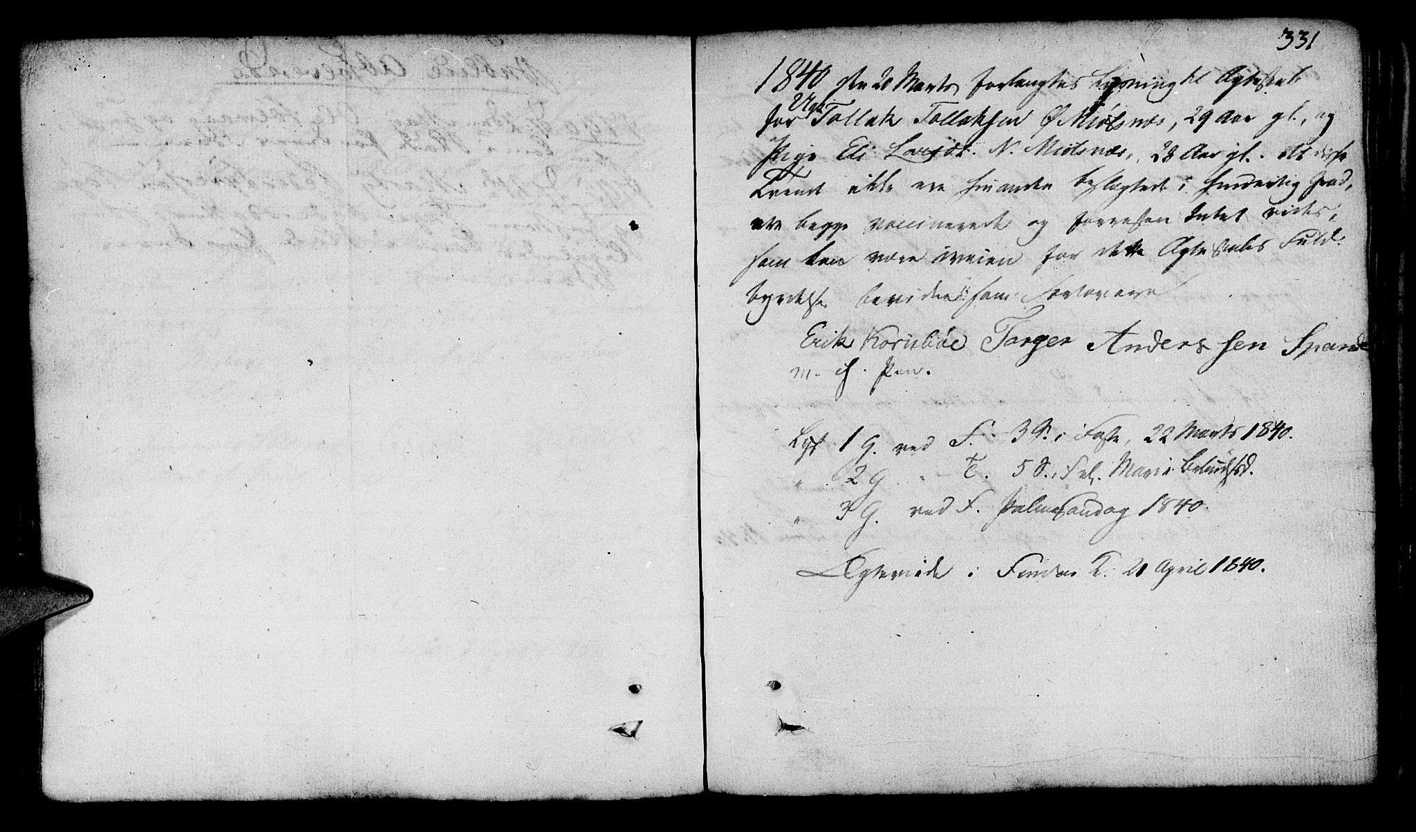 SAST, Finnøy sokneprestkontor, H/Ha/Haa/L0005: Ministerialbok nr. A 5, 1773-1816, s. 331